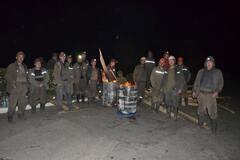Бочки і шини: шахтарі влаштували депутатові Березі 'Майдан'
