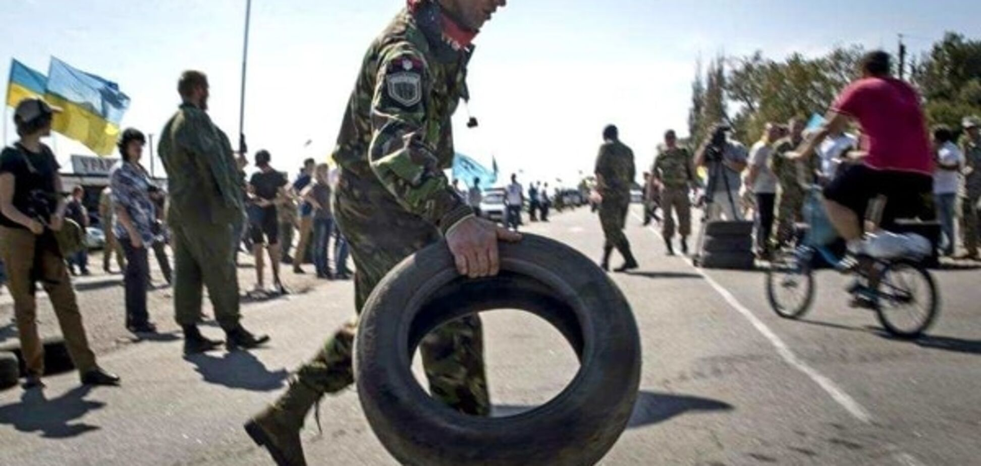 Прикордонники розповіли, як Росія намагається дискредитувати блокаду Криму