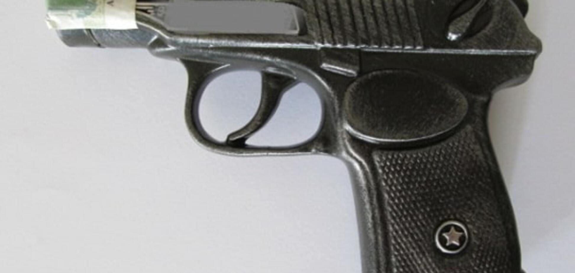У Києві орудував грабіжник із пляшкою-'пістолетом'