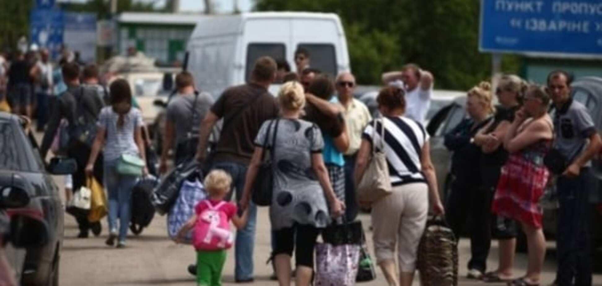 Кількість переселенців в Україні наблизилася до 1 млн осіб - ДСНС