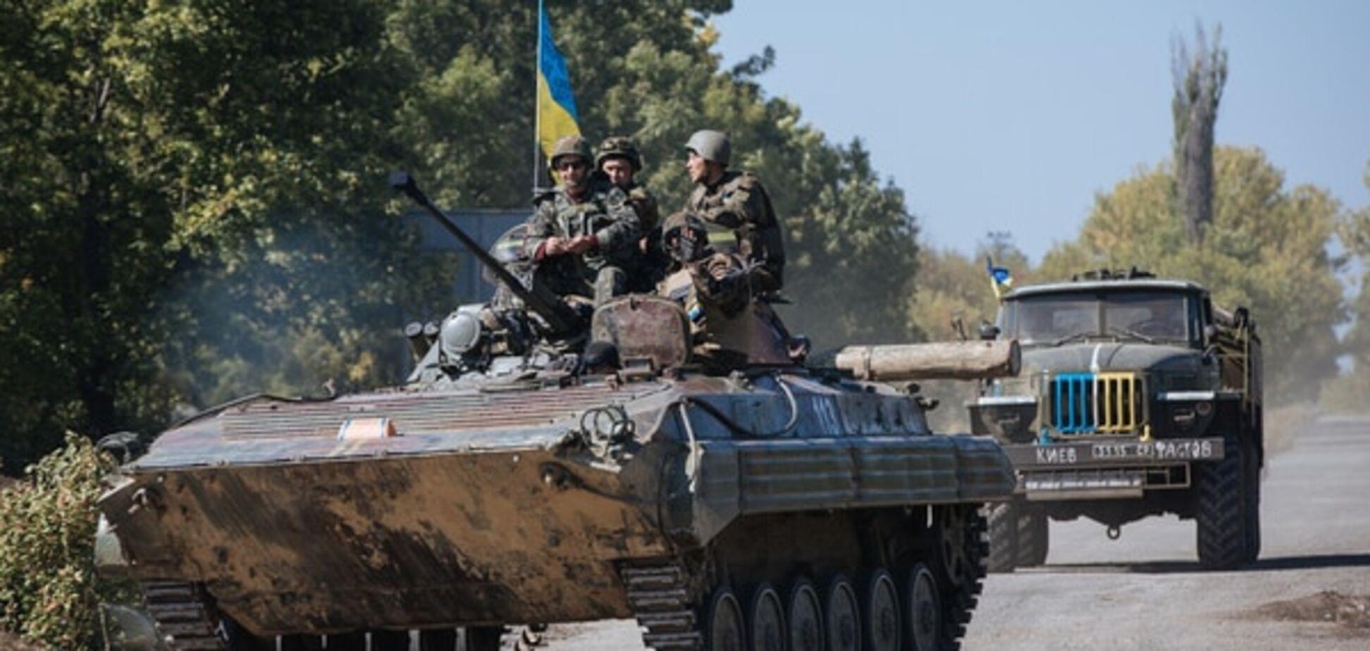 На Луганщині розпочалося відведення танків від лінії розмежування
