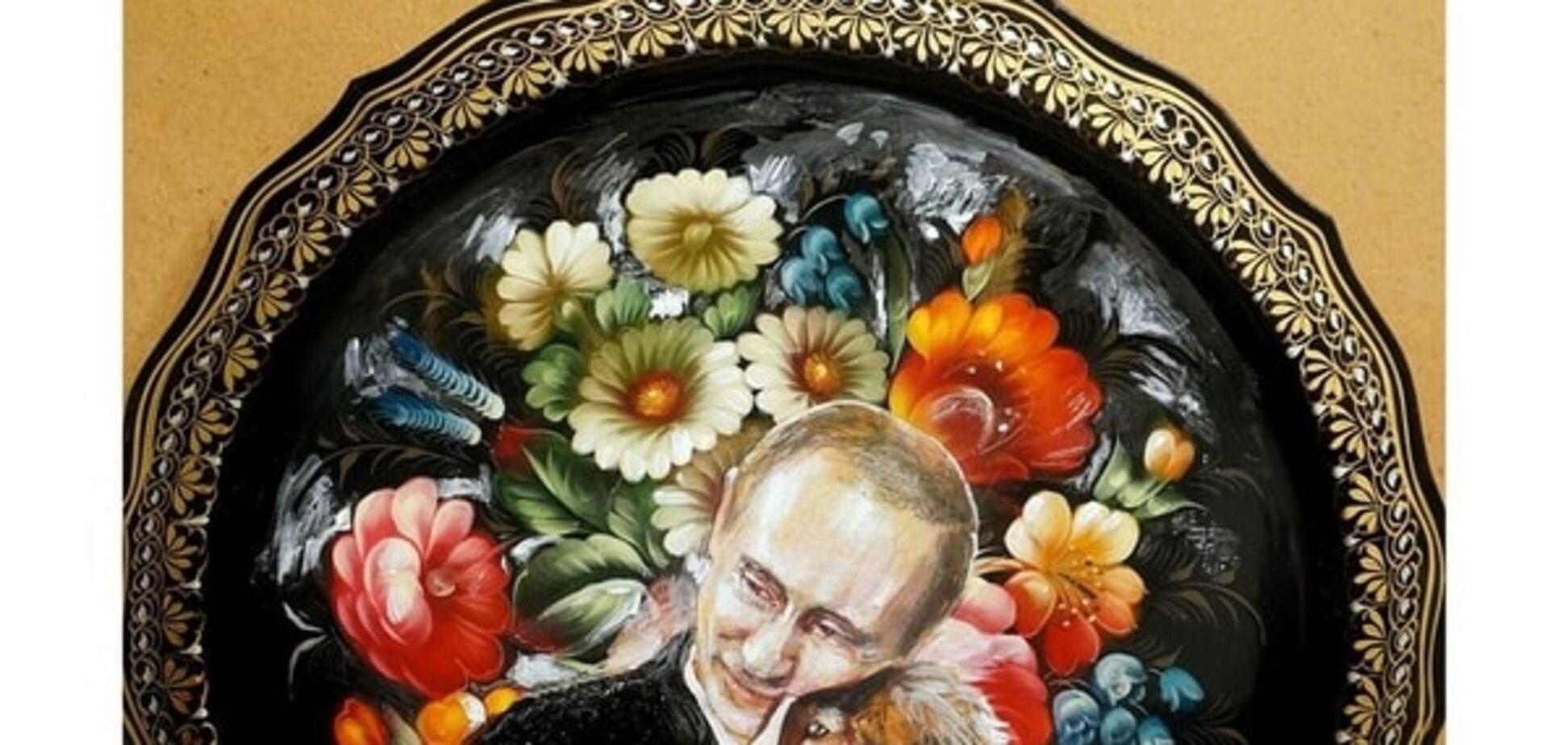 'Ласкавий' Путін із щеням у квітах підірвав соцмережі