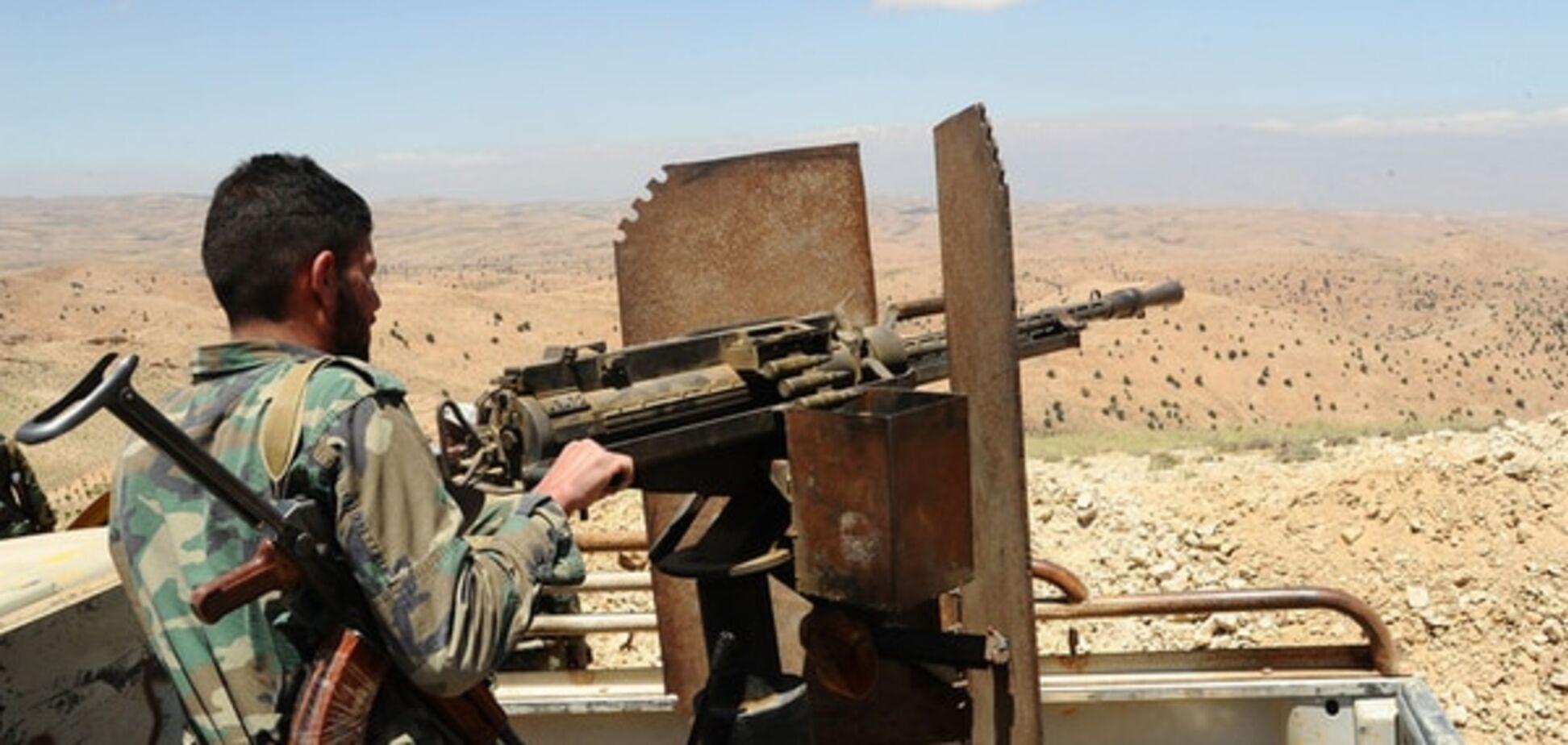Армия Сирии начала наступление на оппозицию при поддержке авиации России