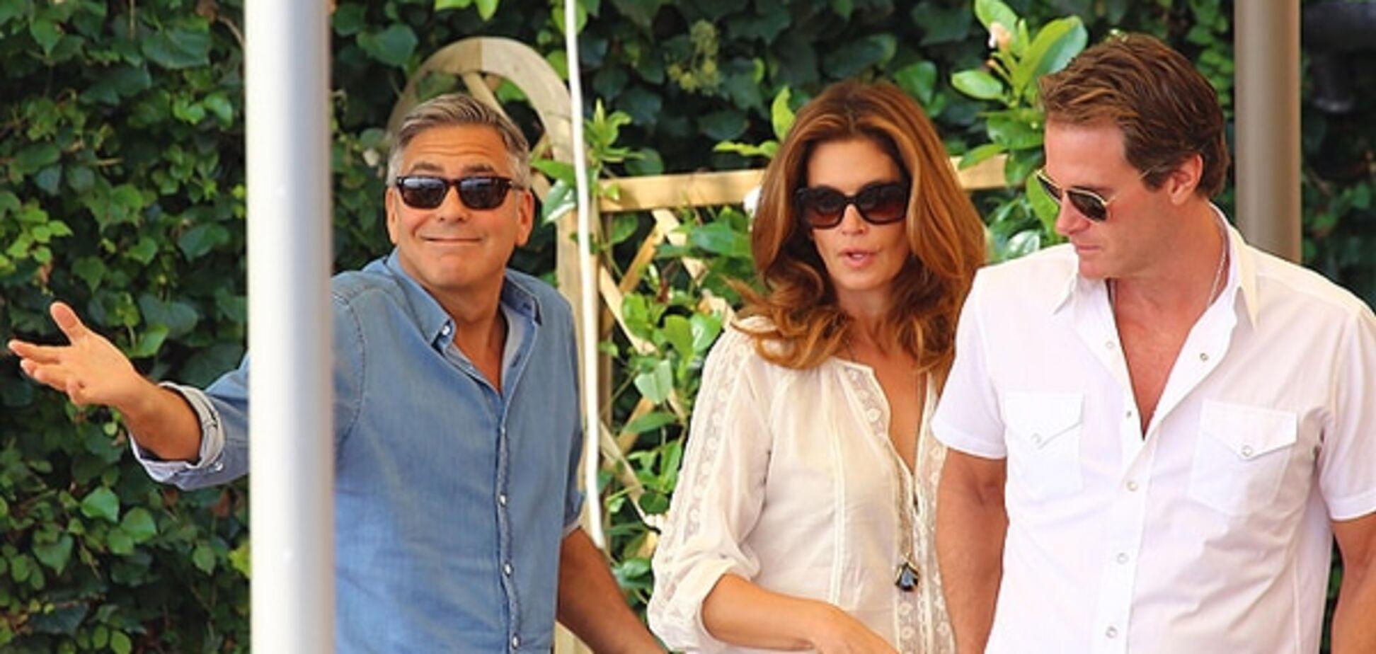 Джордж Клуні зізнався, що спав із заміжньою Сінді Кроуфорд