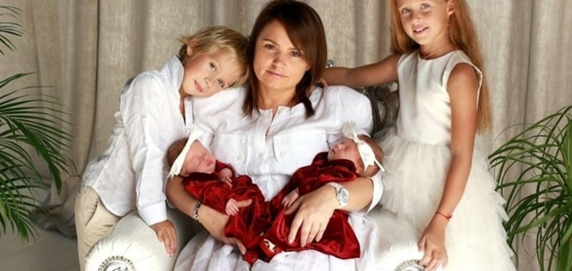 47-летняя Ирена Кильчицкая показала своих новорожденных двойняшек