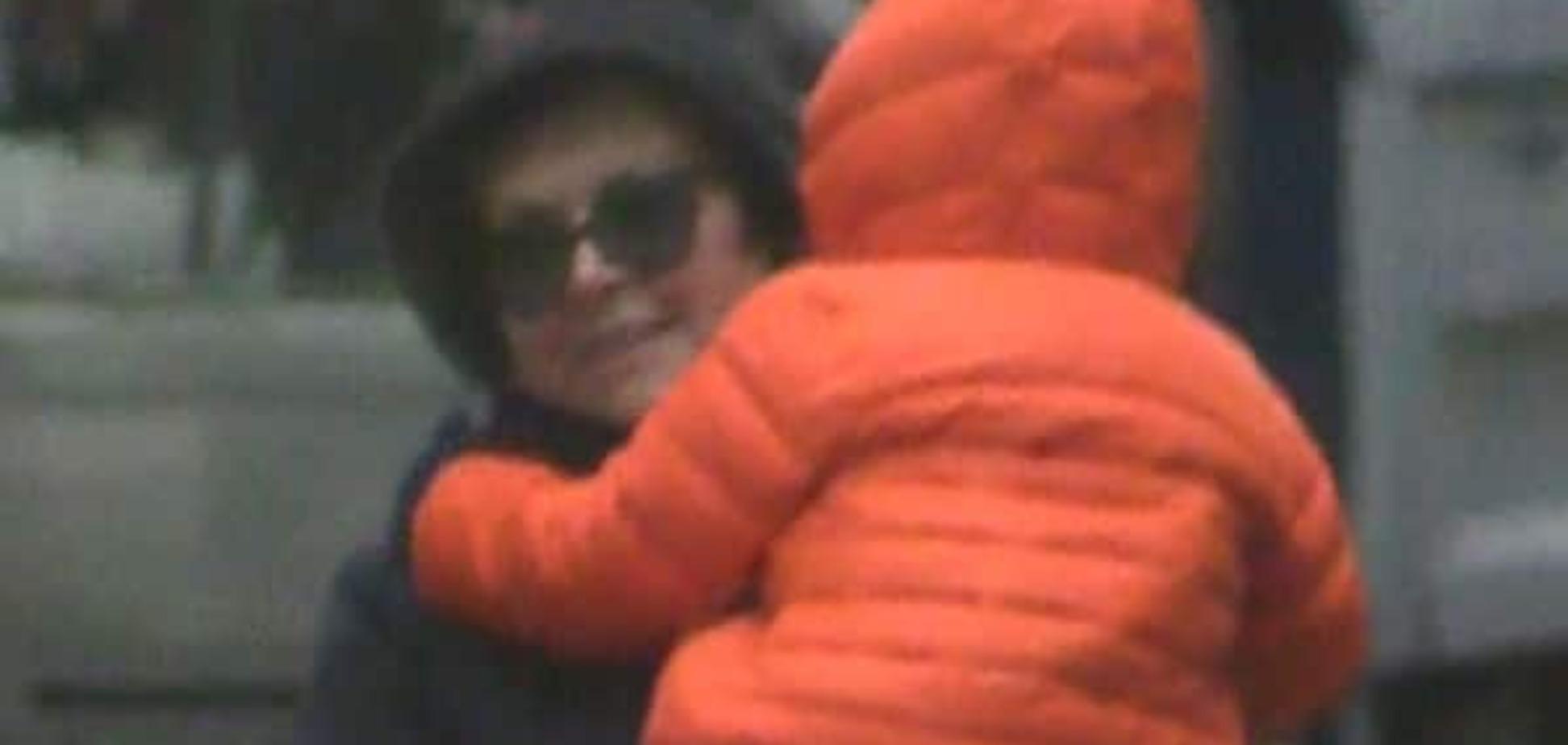 Мать Жанны Фриске встретилась с двухлетним внуком