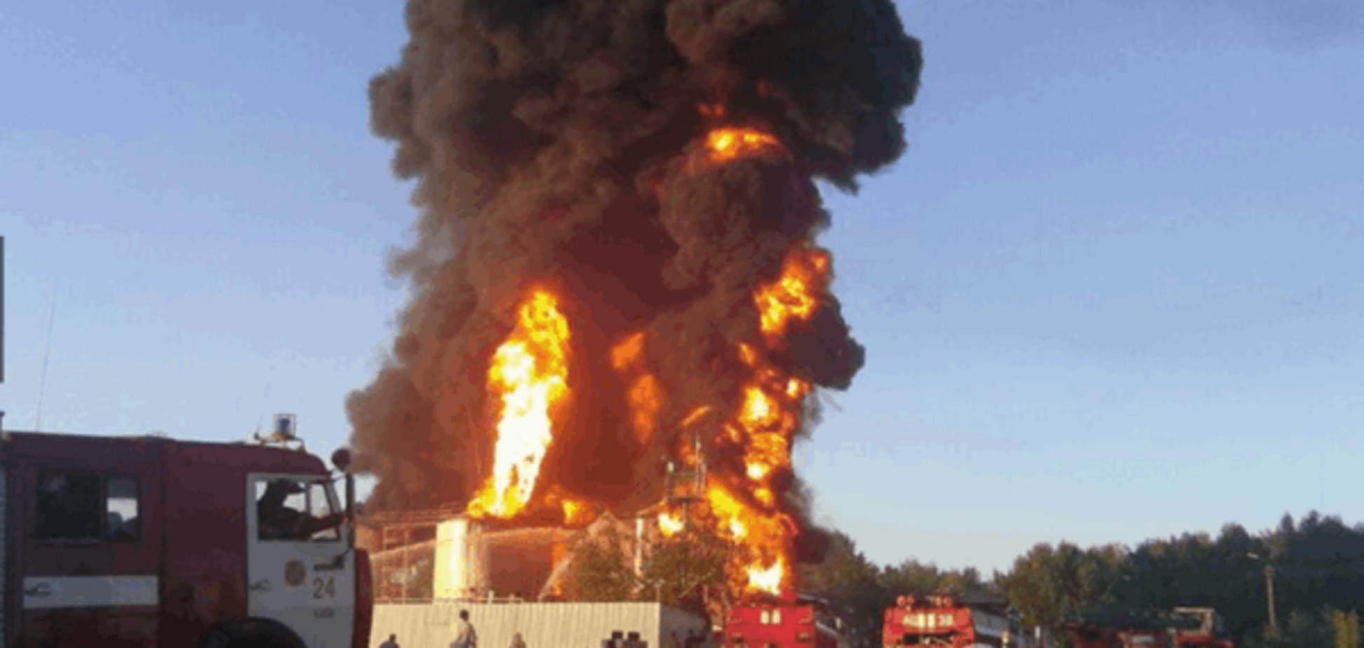 Пожар на нефтебазе 'БРСМ-Нафта' не нанес вреда окружающей среде - немецкие эксперты