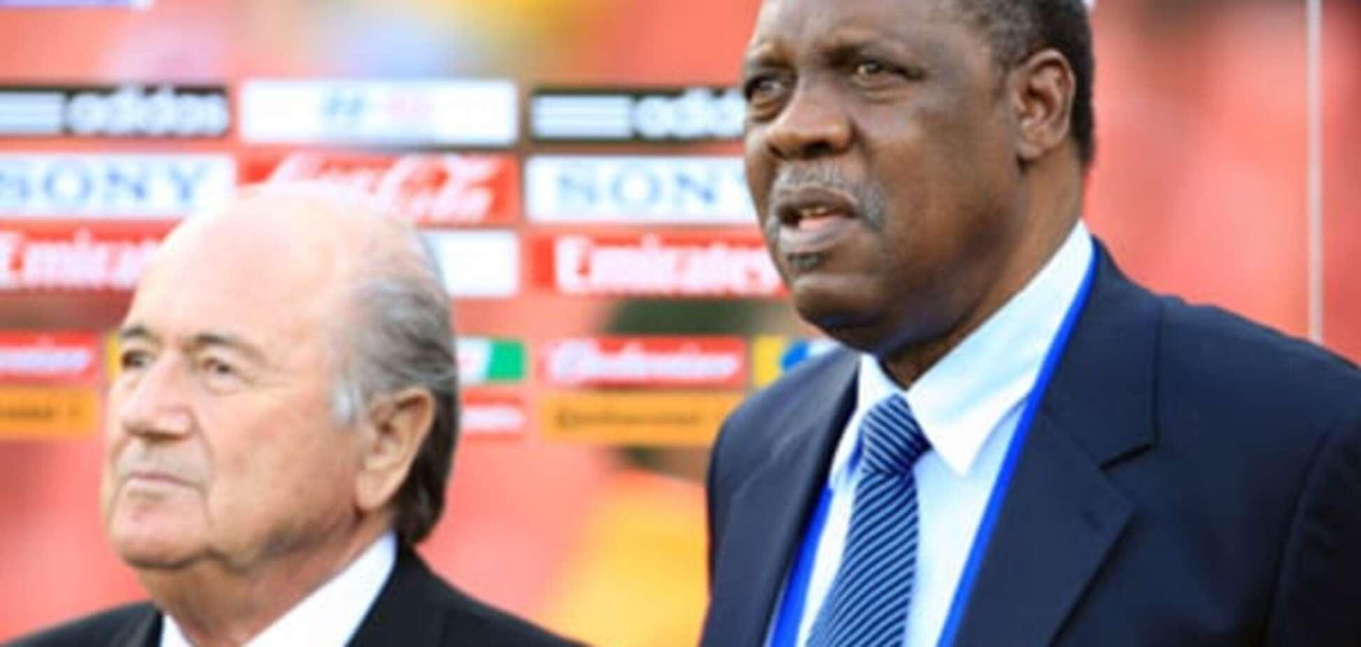 ФИФА впервые возглавил африканец