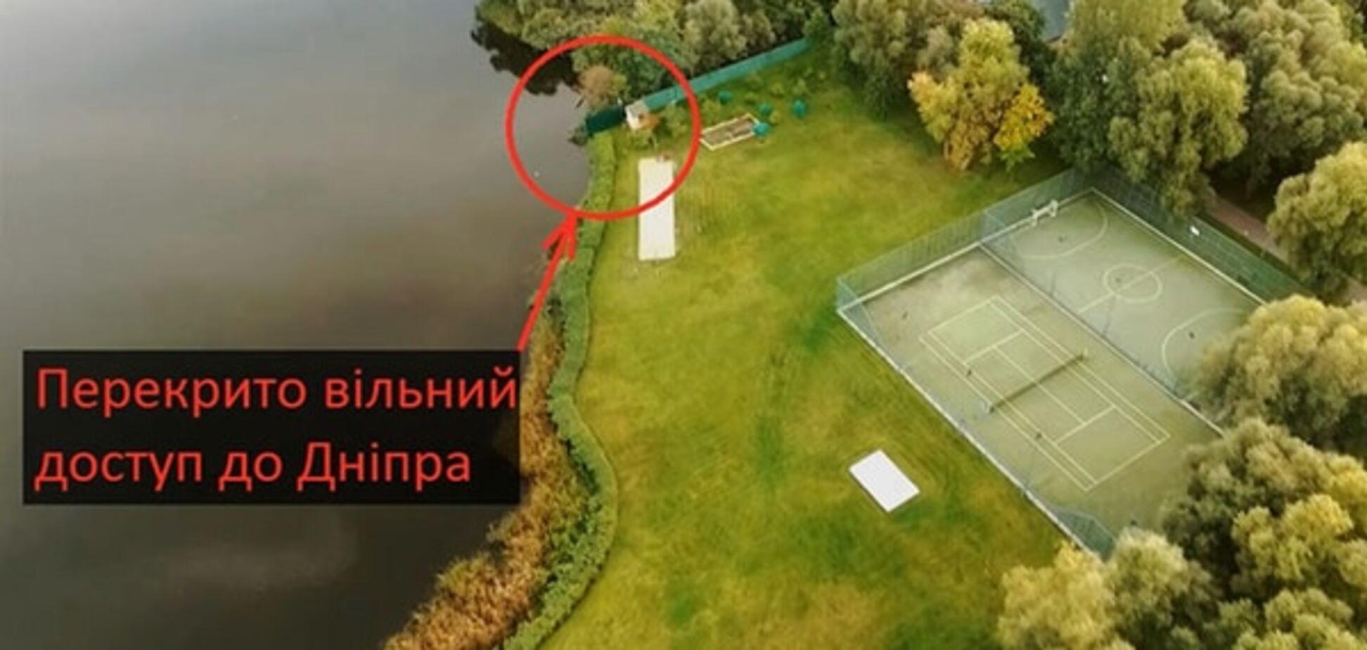 У Києві знайшли шикарний особняк екс-регіонала, 'замаскований' під водну станцію