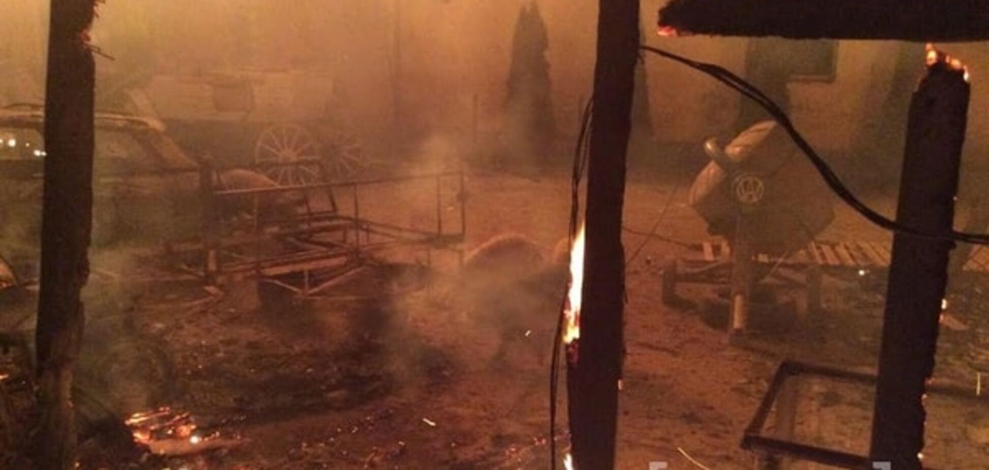 Циганський бунт в Мукачеві: роми спалили будинок 'Національного барона України'