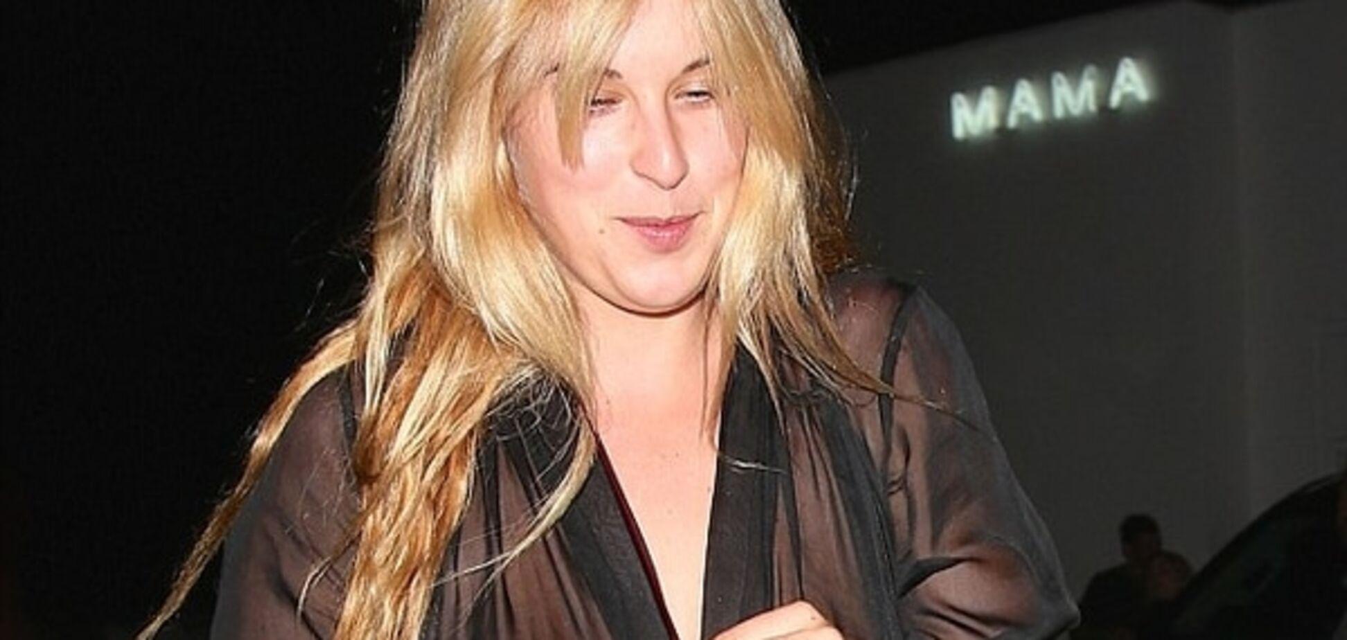 Дочь Брюса Уиллиса пришла на вечеринку Рианны без бюстгальтера