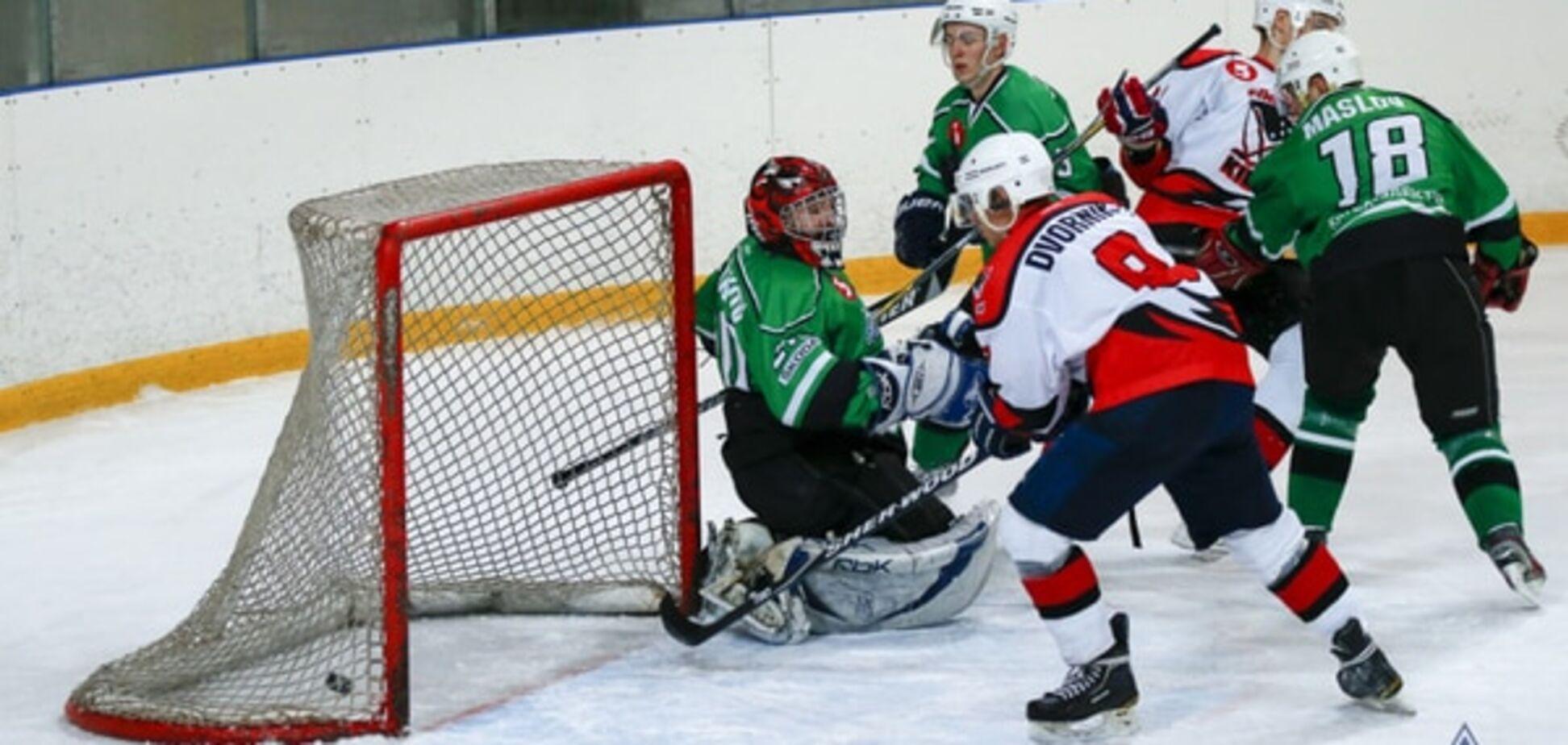 Красиві перемоги лідерів: результати 6-го туру чемпіонату України з хокею