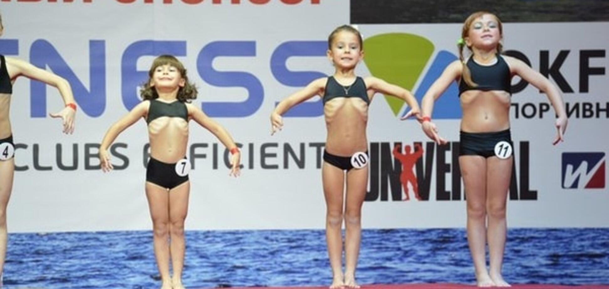 'Мечта педофила': детский фитнес-конкурс в России шокировал интернет
