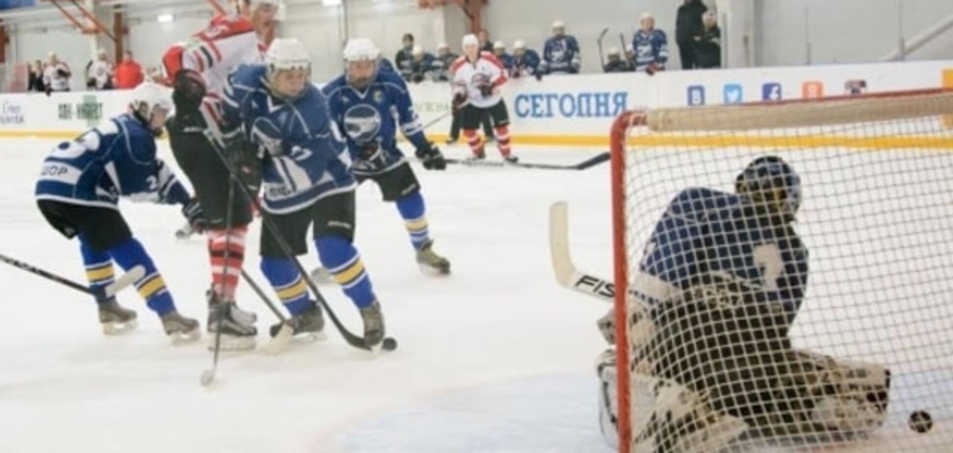 ХК 'Донбасс' - ХК 'Юность' - 23-0: красивая победа