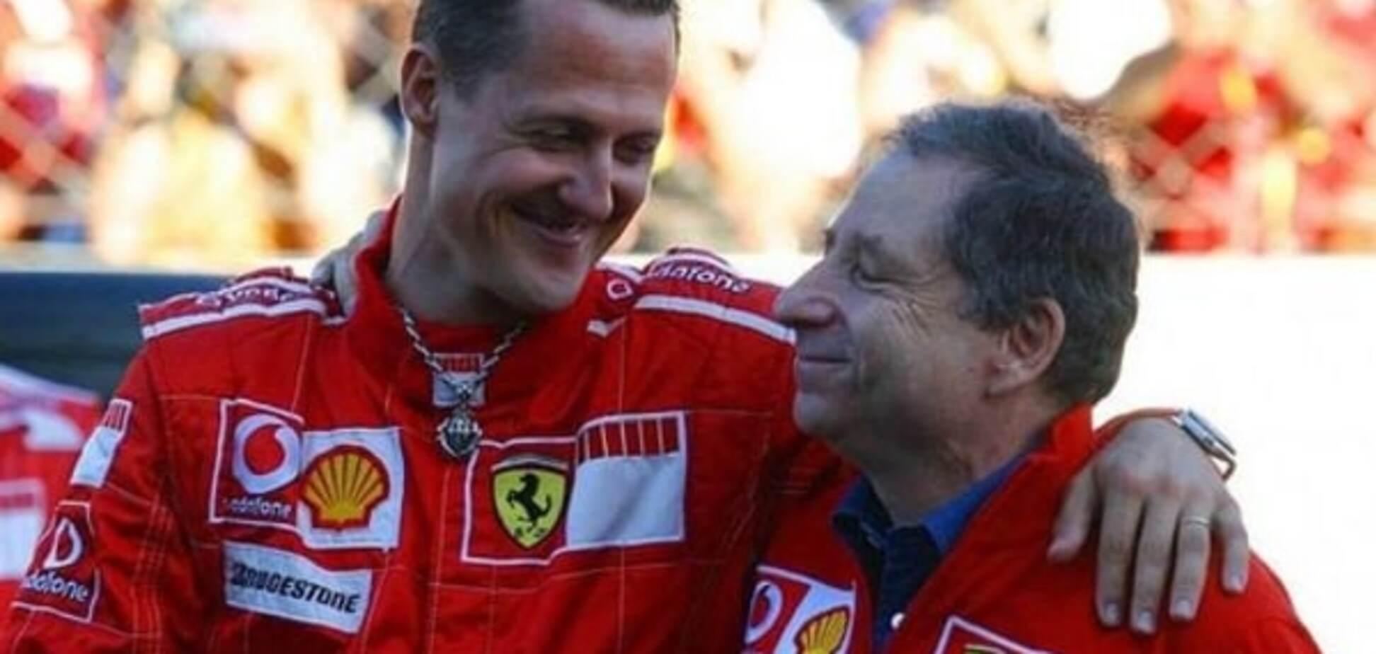 Колишній глава Ferrari розповів про боротьбу Шумахера за життя