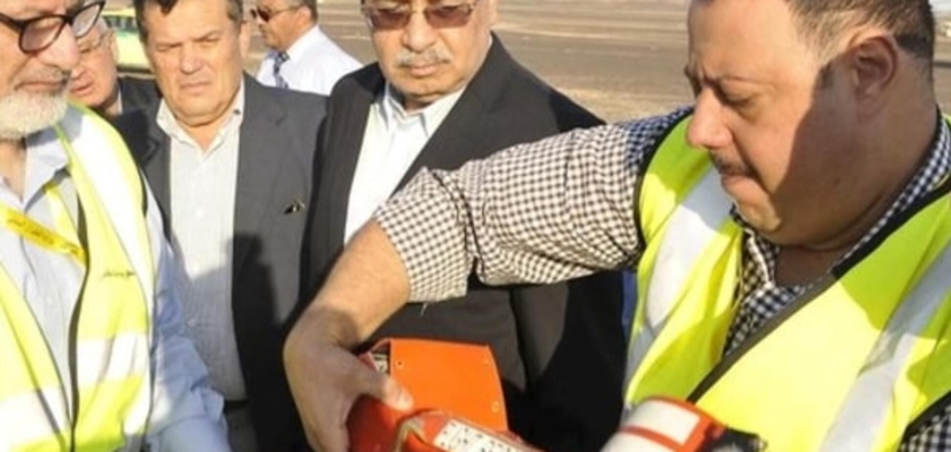 В Єгипті почали розшифровку 'чорних скриньок' російського А-321