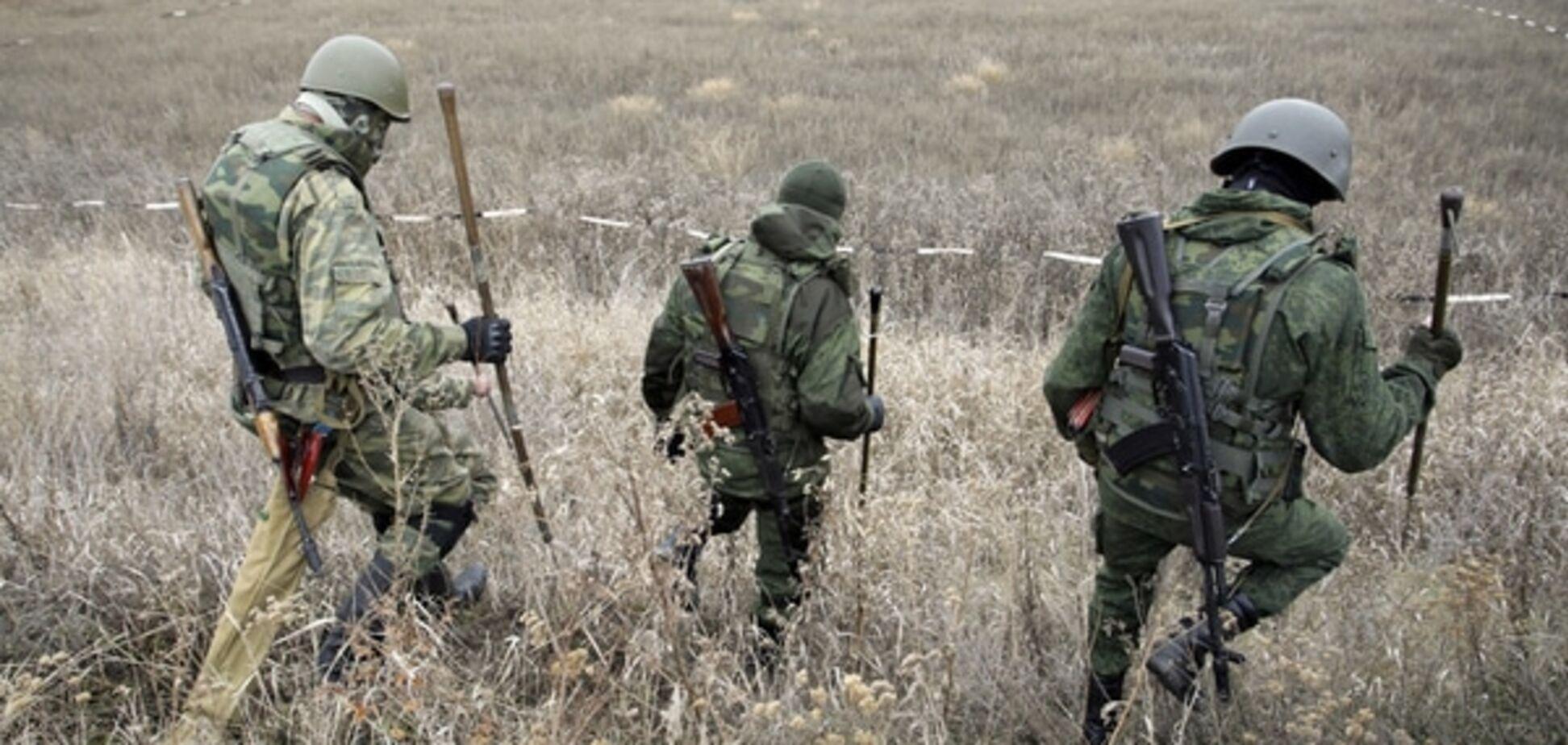 Терористи з гранатометів і кулеметів обстріляли Піски