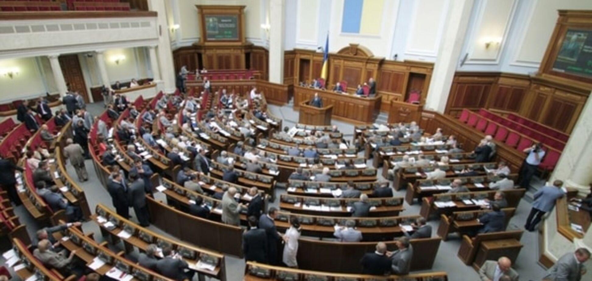 Народные депутаты приняли пять 'безвизовых законов' из шести