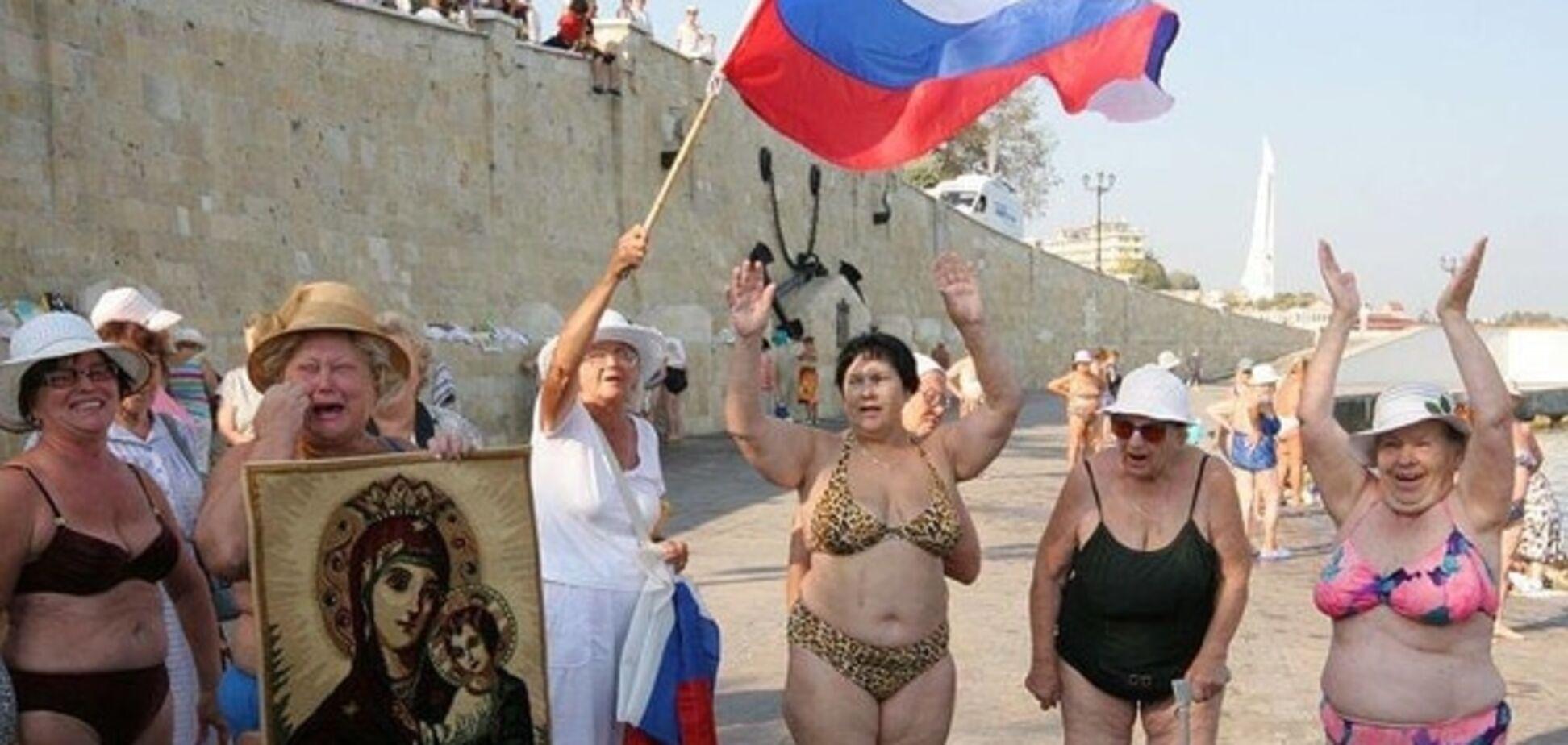 Вино, кино и домино: крымские марионетки предложили россиянам альтернативу курортам Египта