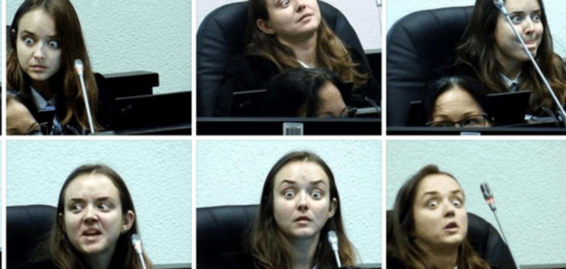 Конкурентка Няши: прокурор из Эстонии 'взорвала' сеть своей мимикой. Фотофакт