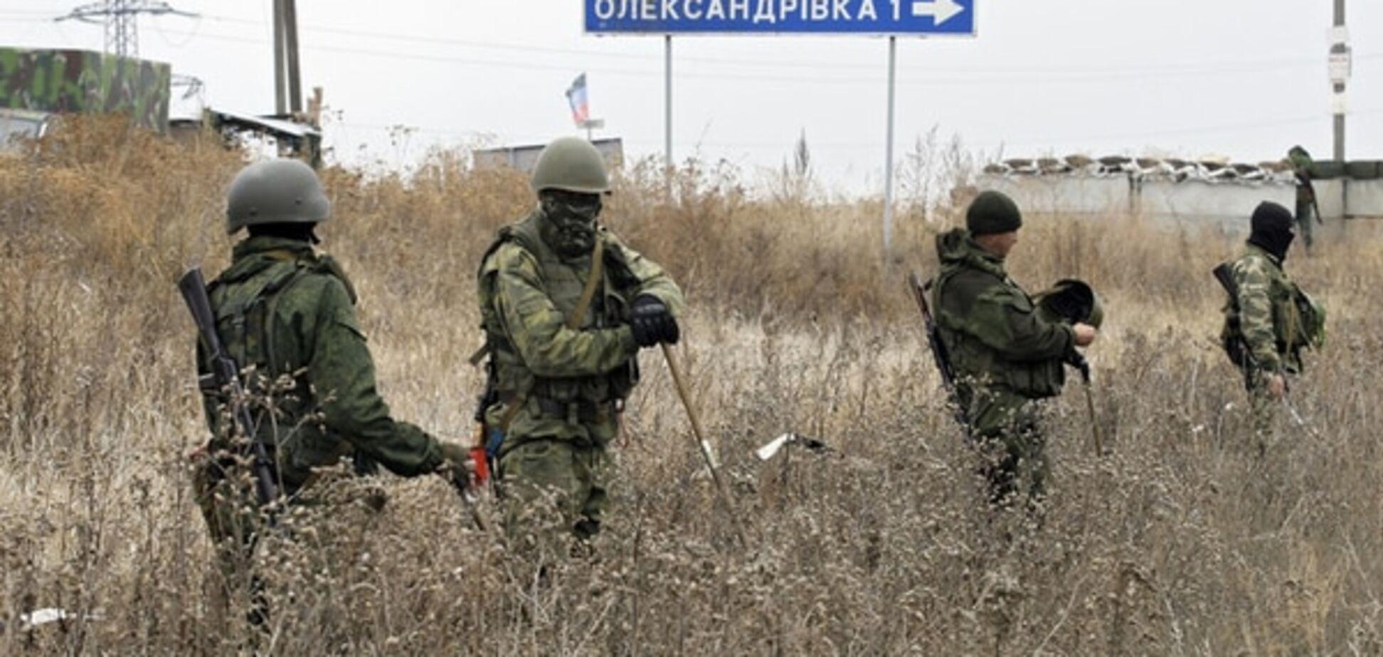 У терористів 'ЛНР' на передовій відібрали документи