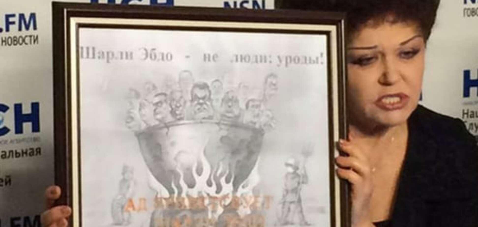 У Росії помстилися Charlie Hebdo карикатурою українського художника з Євромайдану