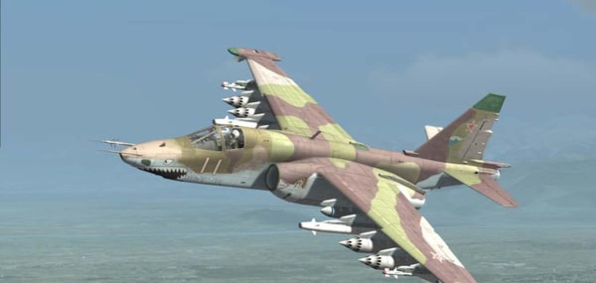 В Генштабе заявили об исправности разбившегося штурмовика Су-25