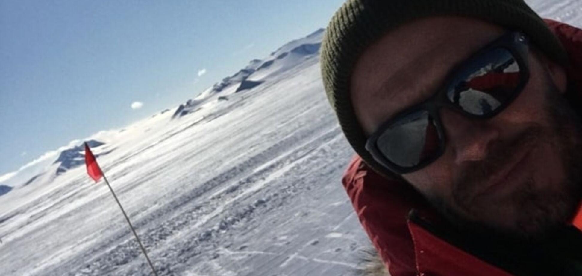 Бекхэм будет играть в Антарктиде