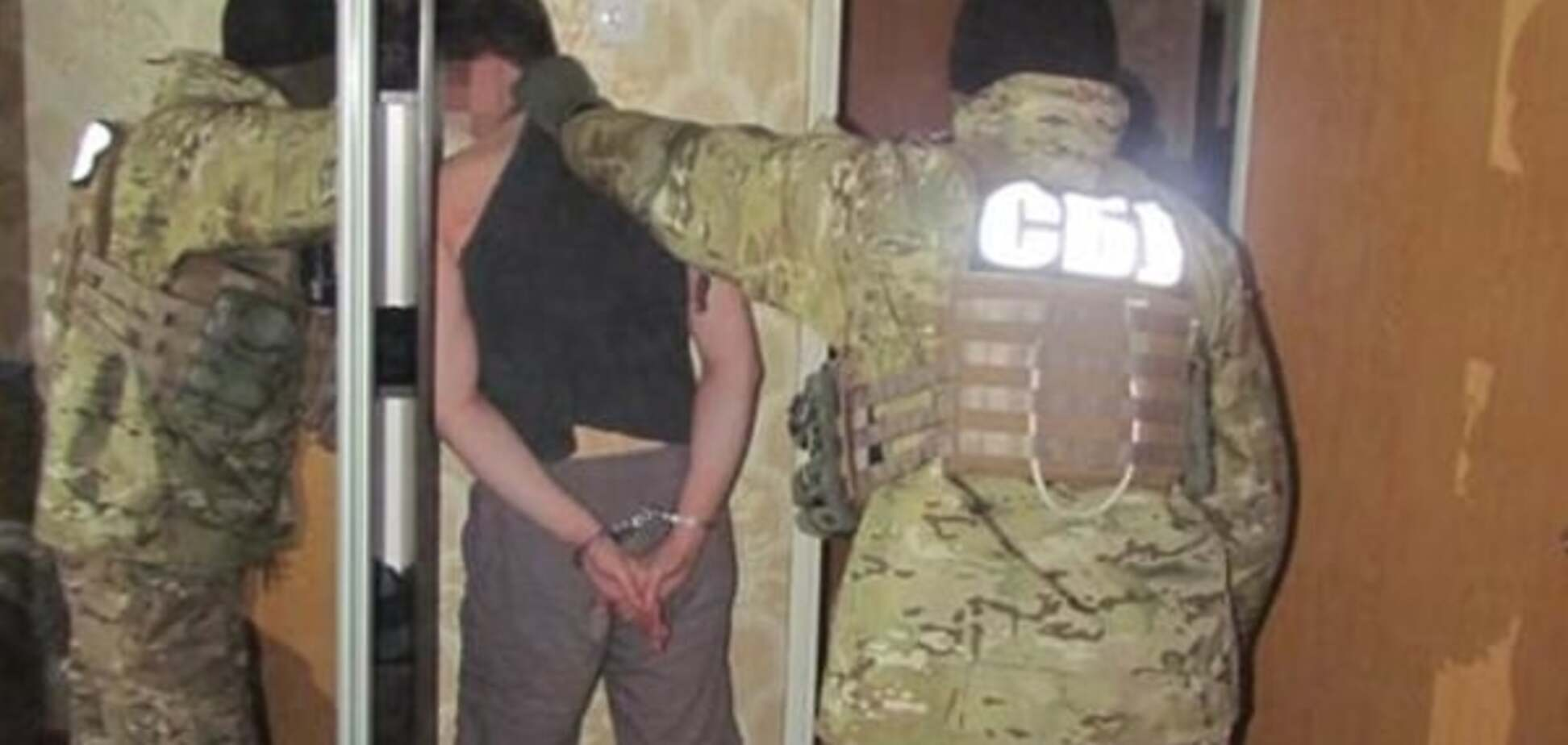У Запоріжжі СБУ затримала мережевого 'бійця ДНР': відеофакт