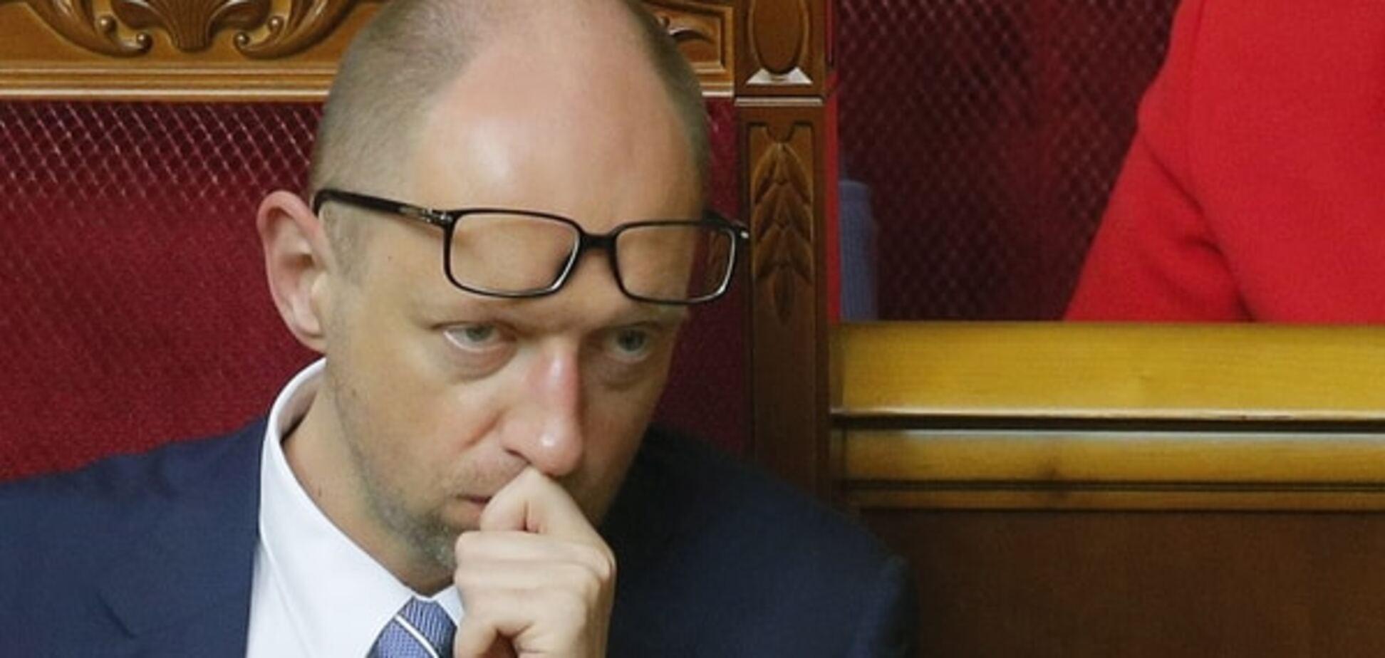 Кому пора на выход: названы худшие министры в Кабмине Яценюка