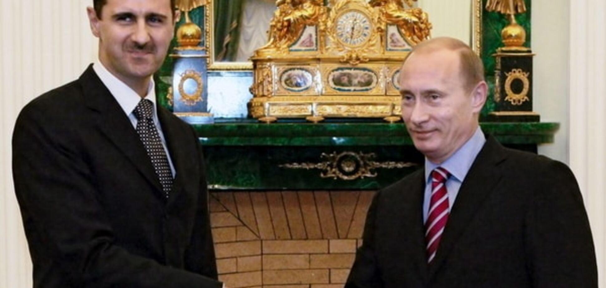 Путин сдал Асада, сдаст и Сирию - генерал