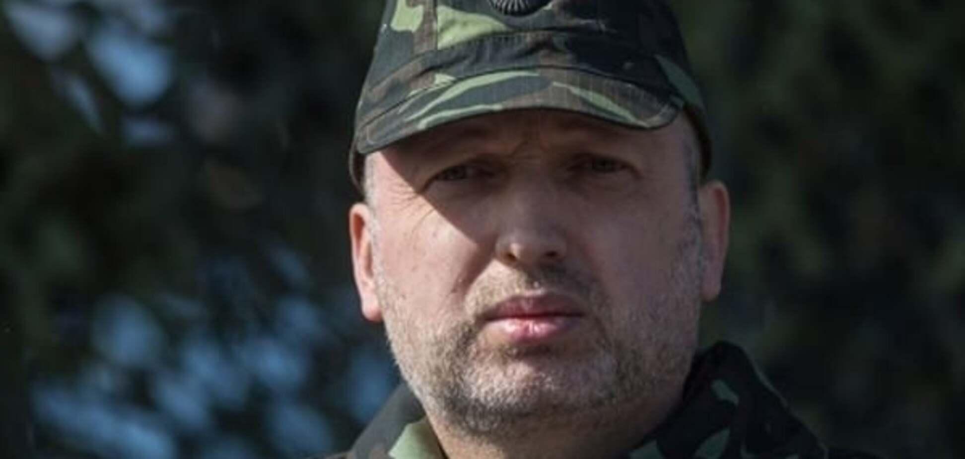 Турчинов розповів, чим відповість Україна терористам у 2016 році