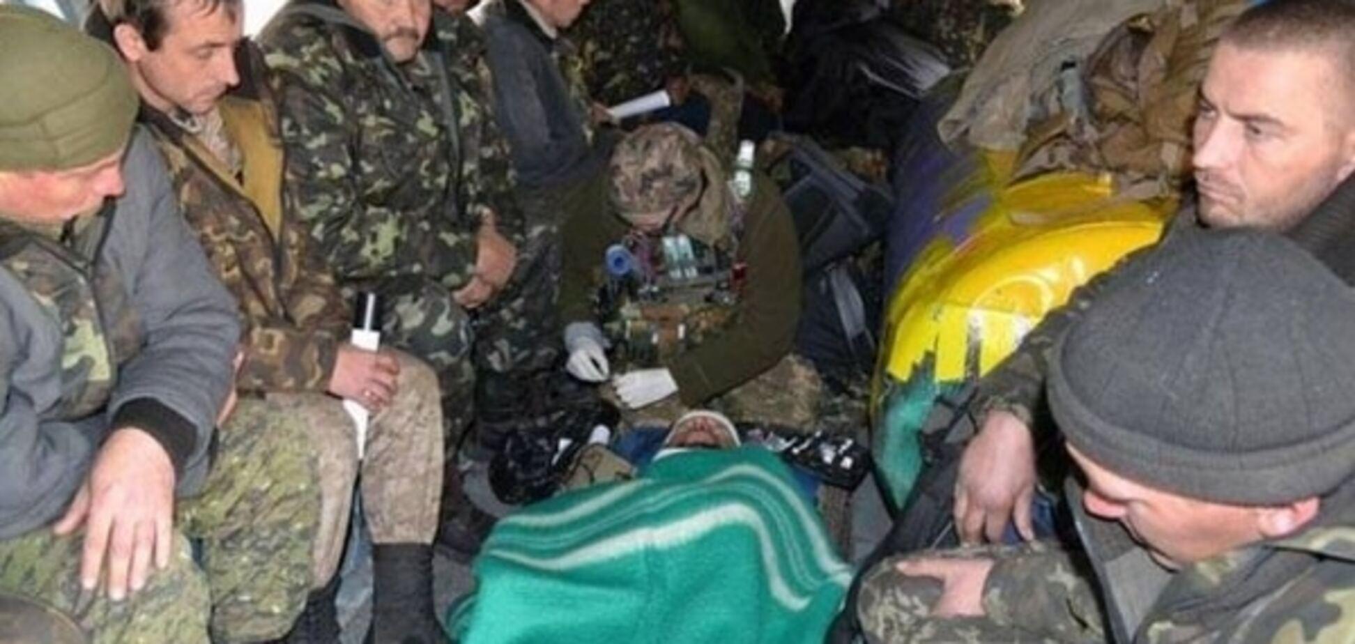 У Штабі нацопору розповіли, чому із зони АТО не евакуюють поранених