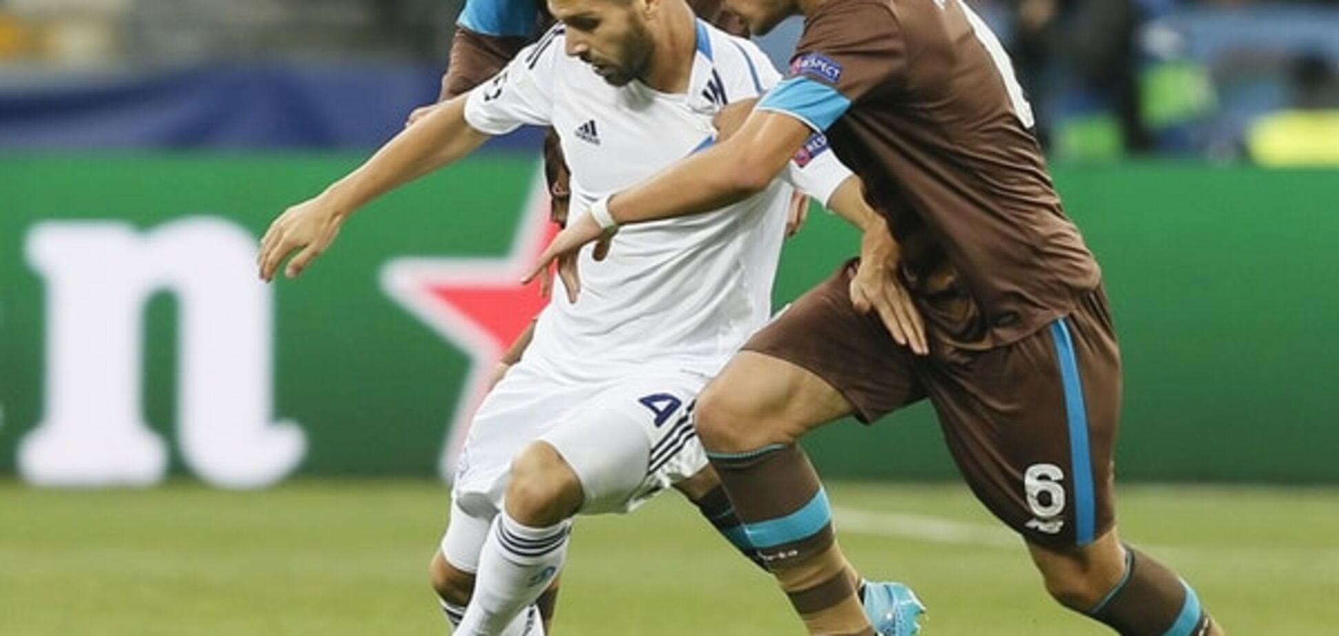 'Динамо' готовит трансфер полузащитника за 10 млн евро