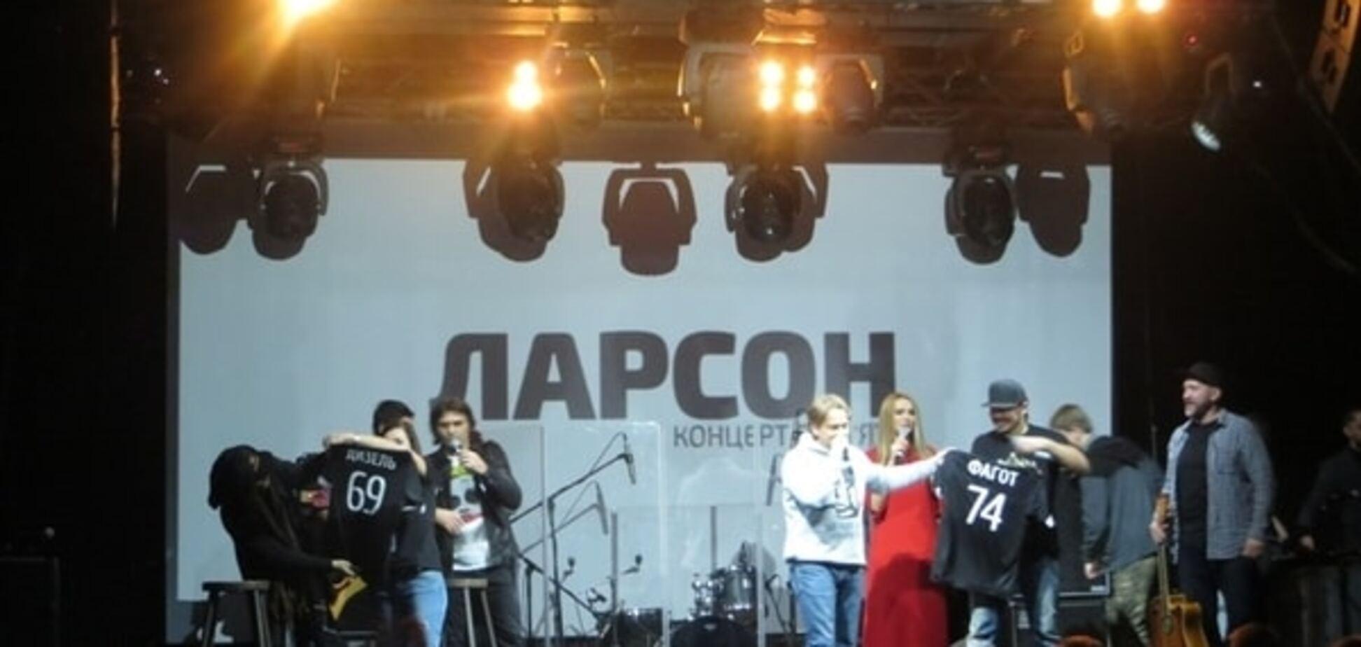 Украинские звезды выступили на концерте памяти Ларсона