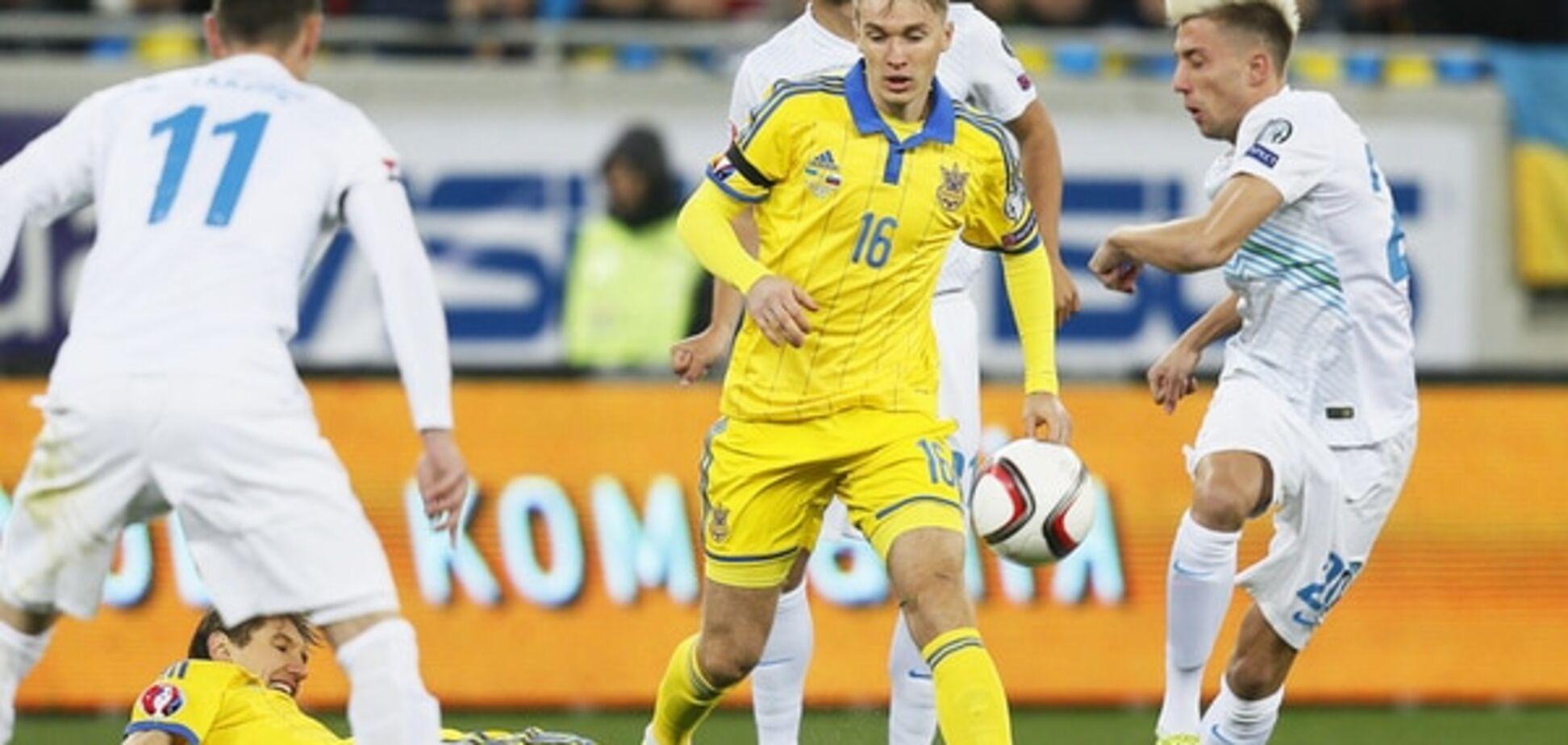 Украина - Словения - 2-0: видео-обзор матча