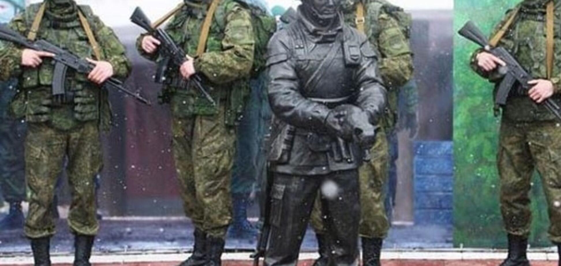 'Кримнаш' просить у народу грошей для пам'ятника 'зеленим чоловічкам'