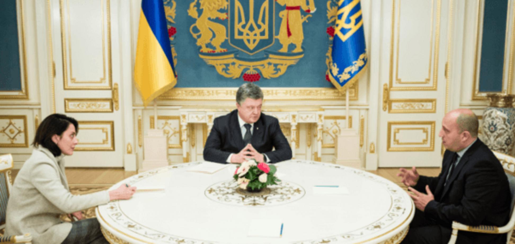 Порошенко дал украинское гражданство борцу с коррупцией в полиции