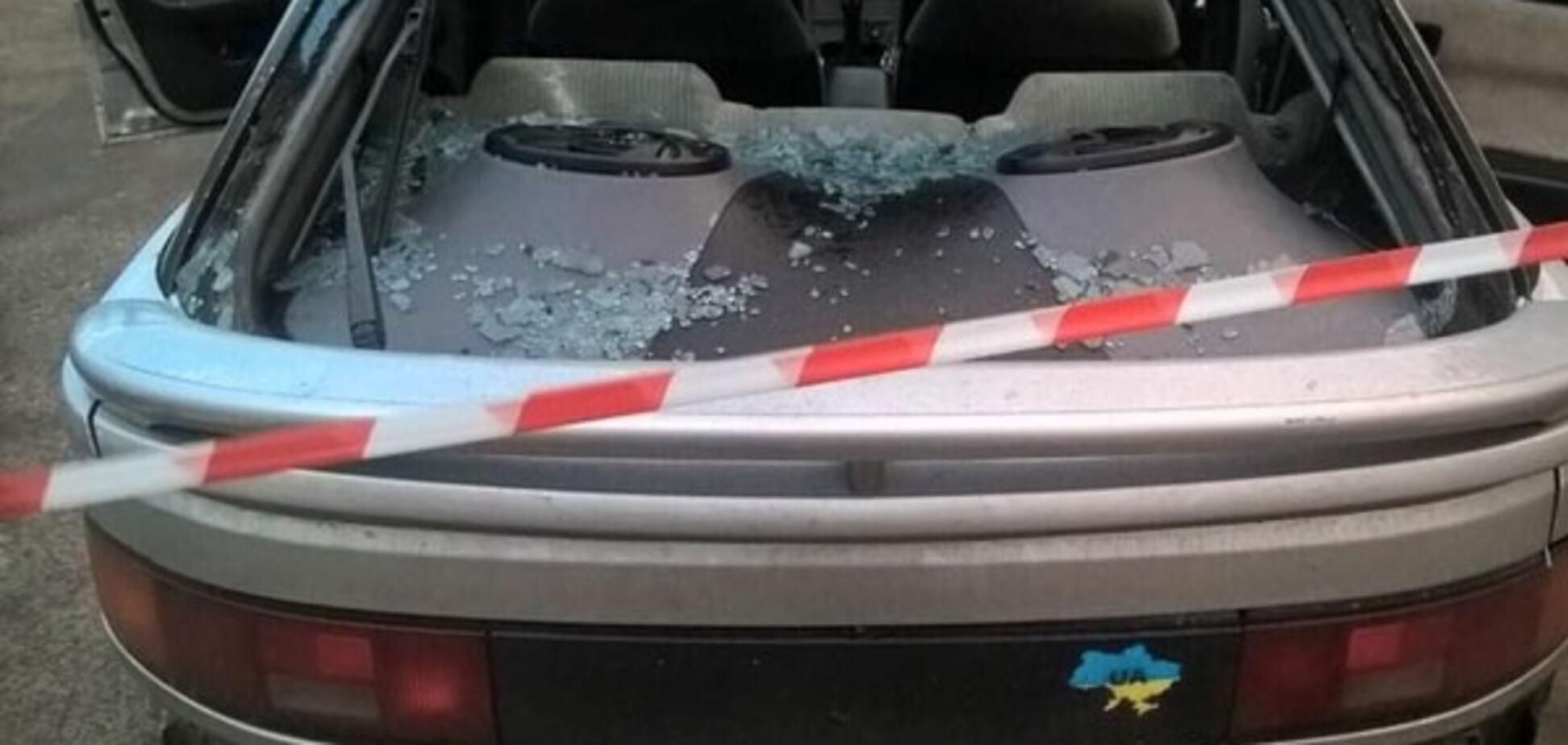 Київським патрульним довелося стріляти, щоб зупинити порушника: опубліковані фото