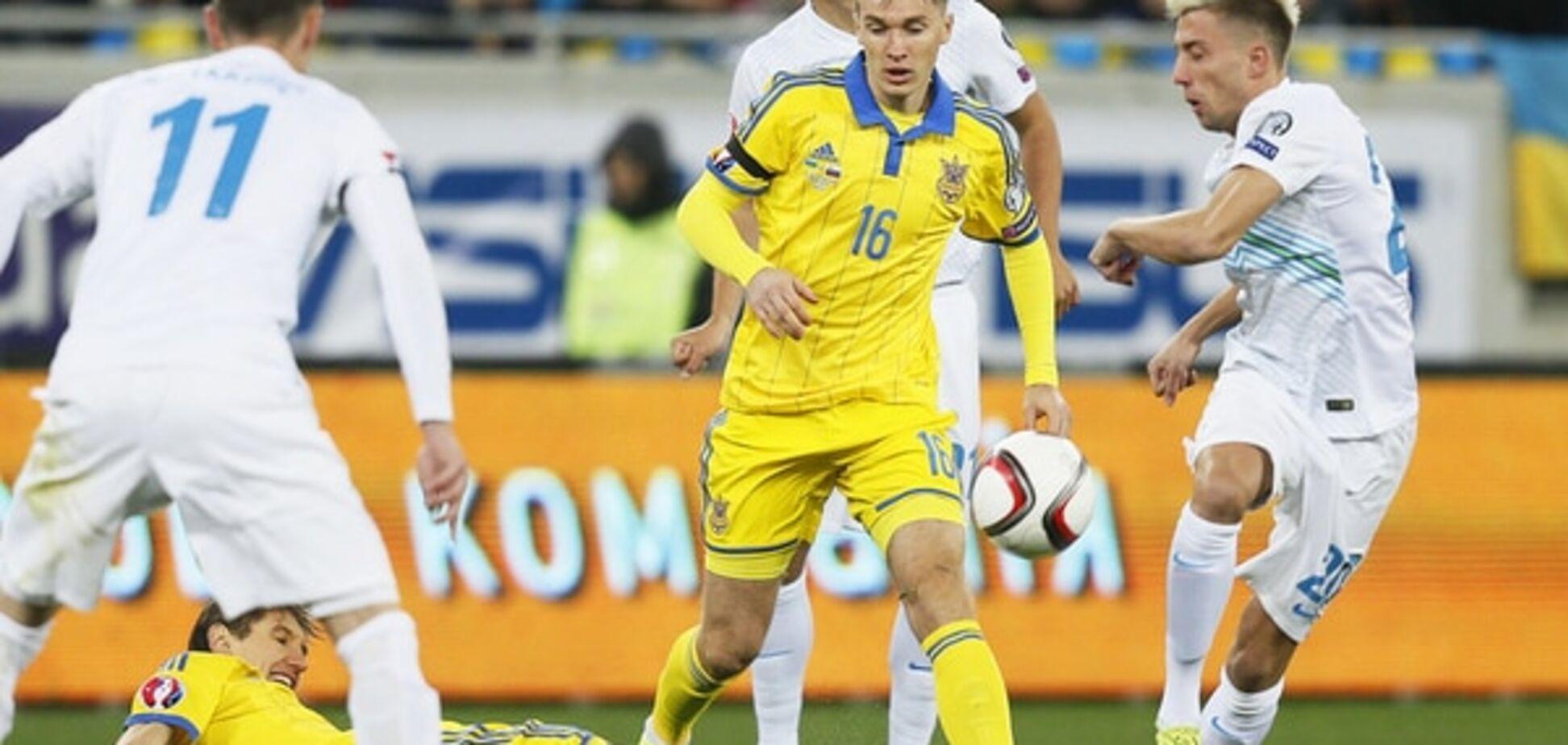 Где смотреть Словения - Украина: расписание трансляций плей-офф Евро-2016