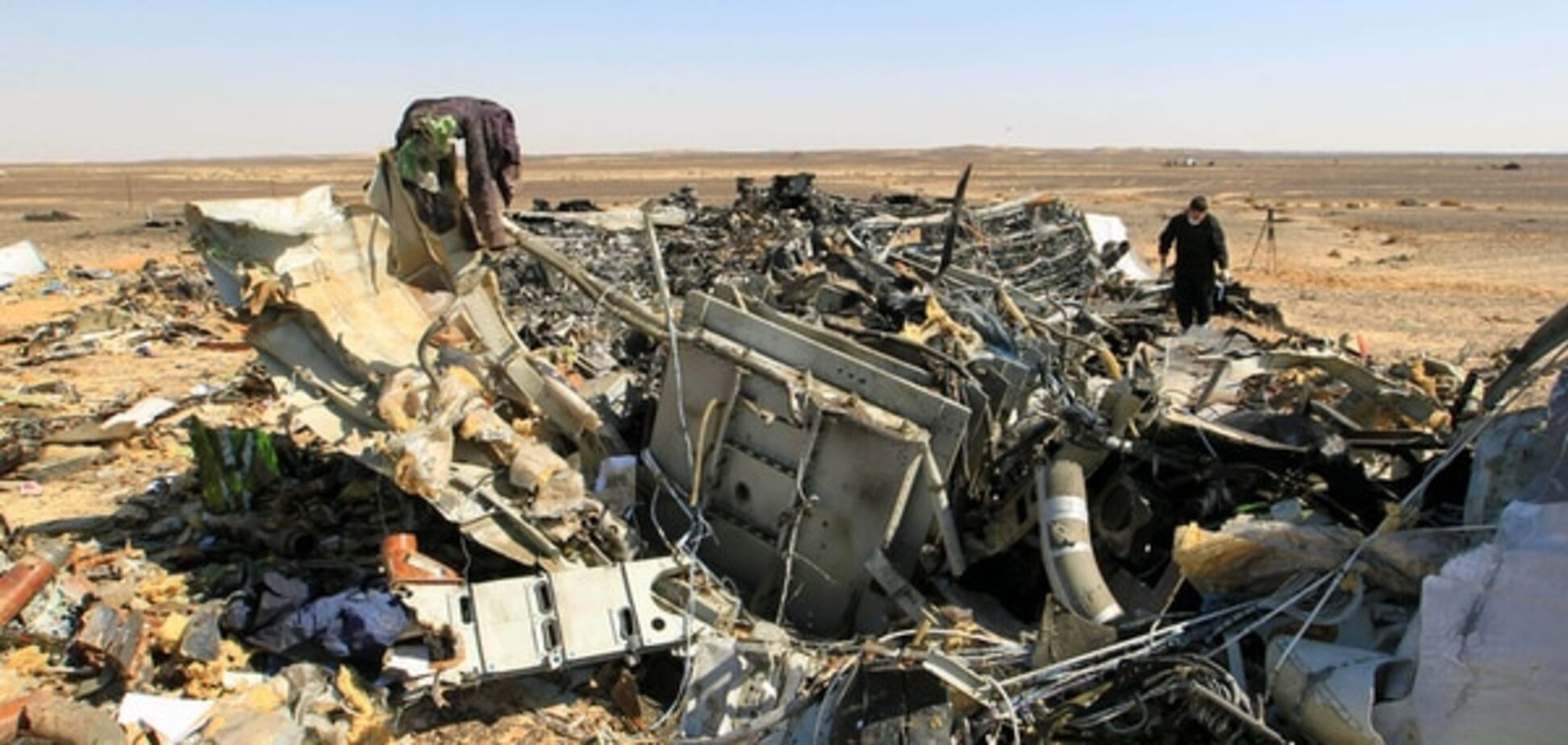 Путин отчитался о ходе расследования крушения А321 в Египте