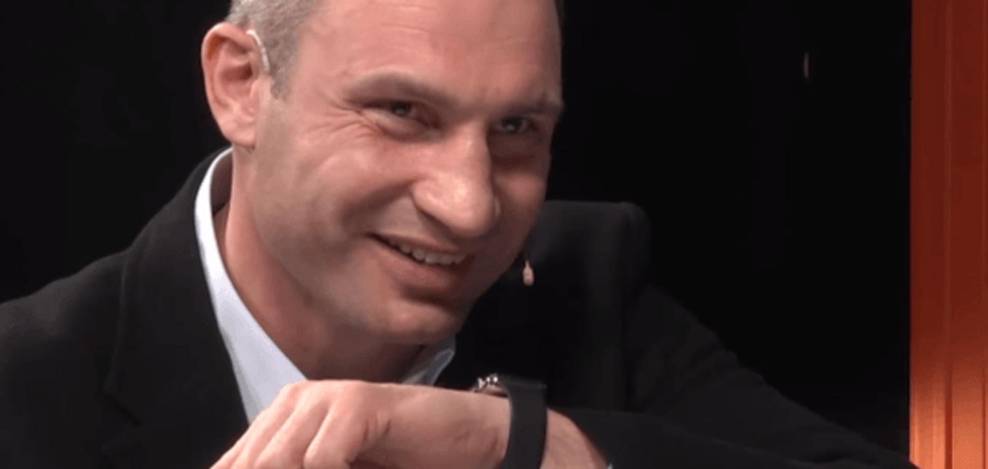 'Міша, гамарджоба!': Кличко поговорив з Саакашвілі по годинах. Відеофакт