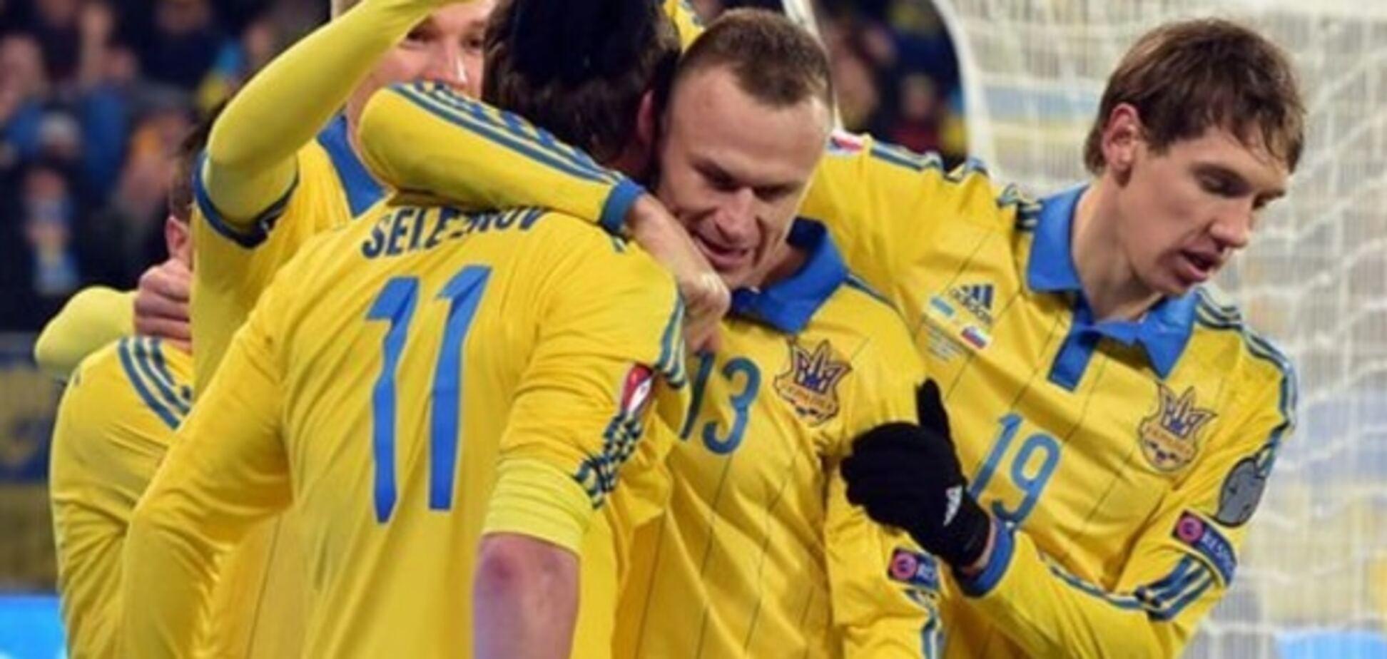 Словения - Украина - 1-1: видео-обзор матча
