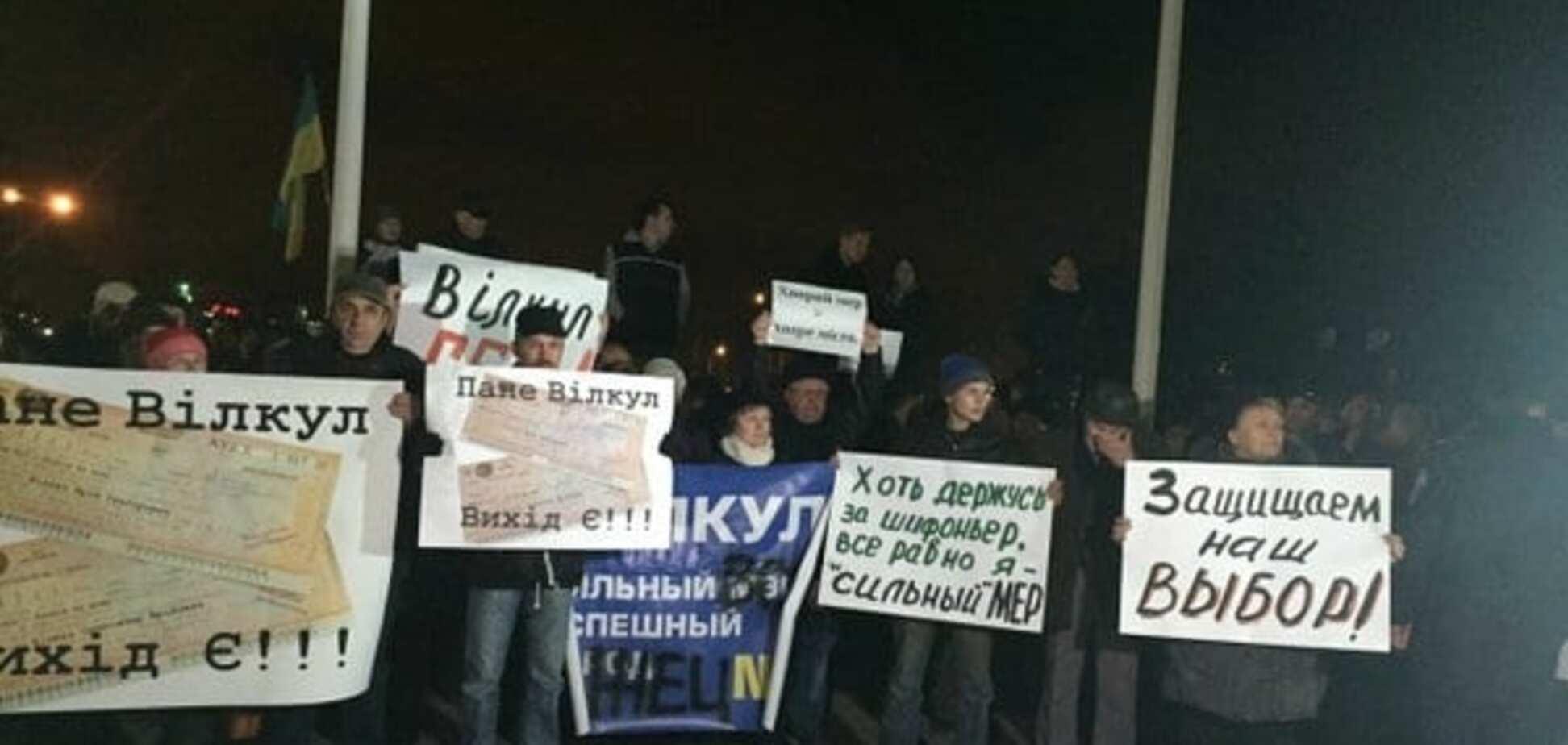 'Буде Майдан, будуть шини!' У Кривому Розі розгорілася боротьба за крісло мера: фотофакт