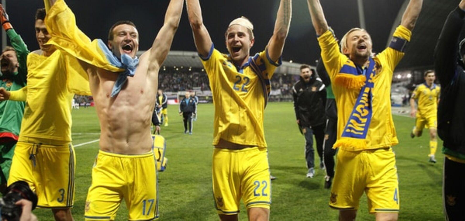 Збірна України вперше в історії вийшла на чемпіонат Європи