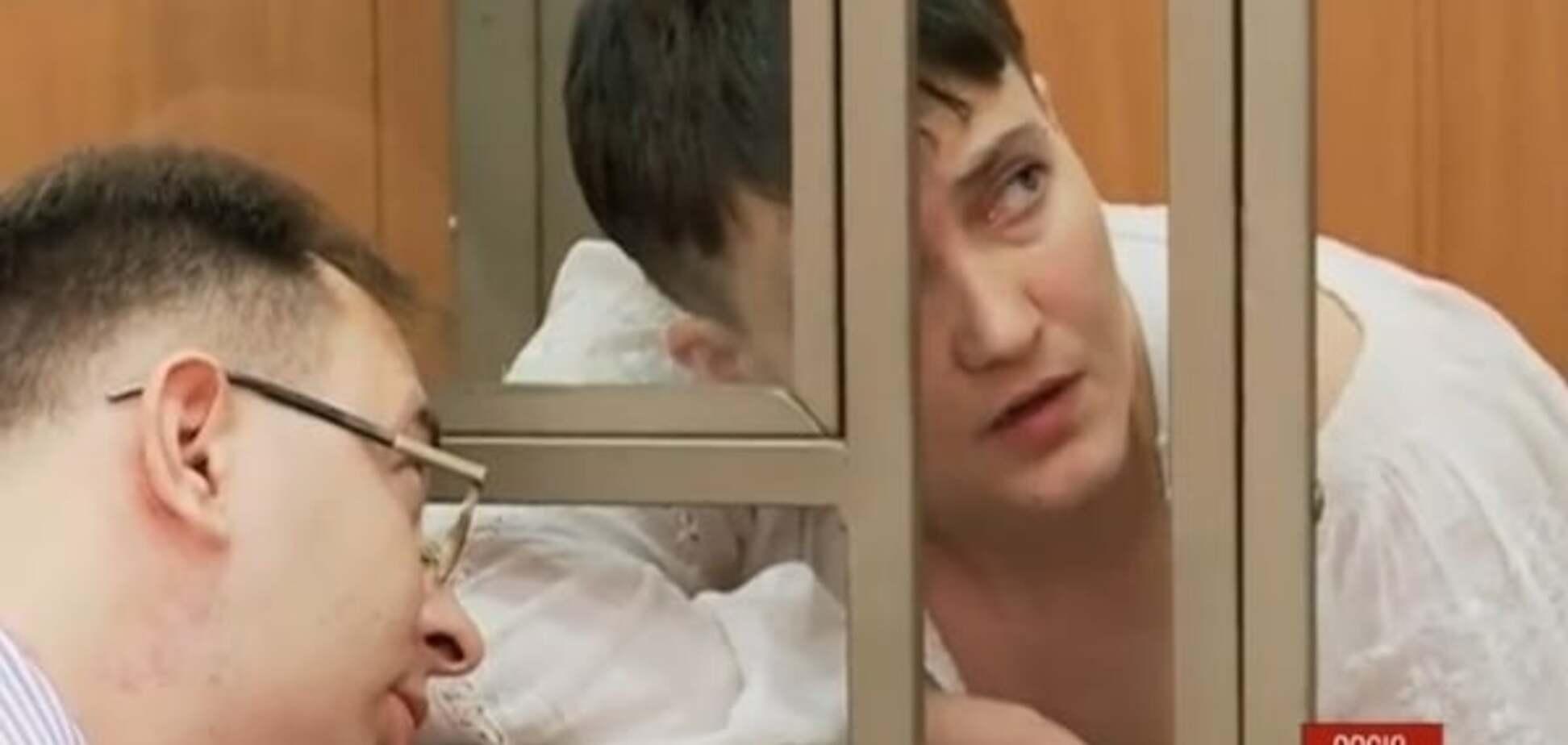 Савченко на суді викрила у брехні кремлівського пропагандиста: відеофакт