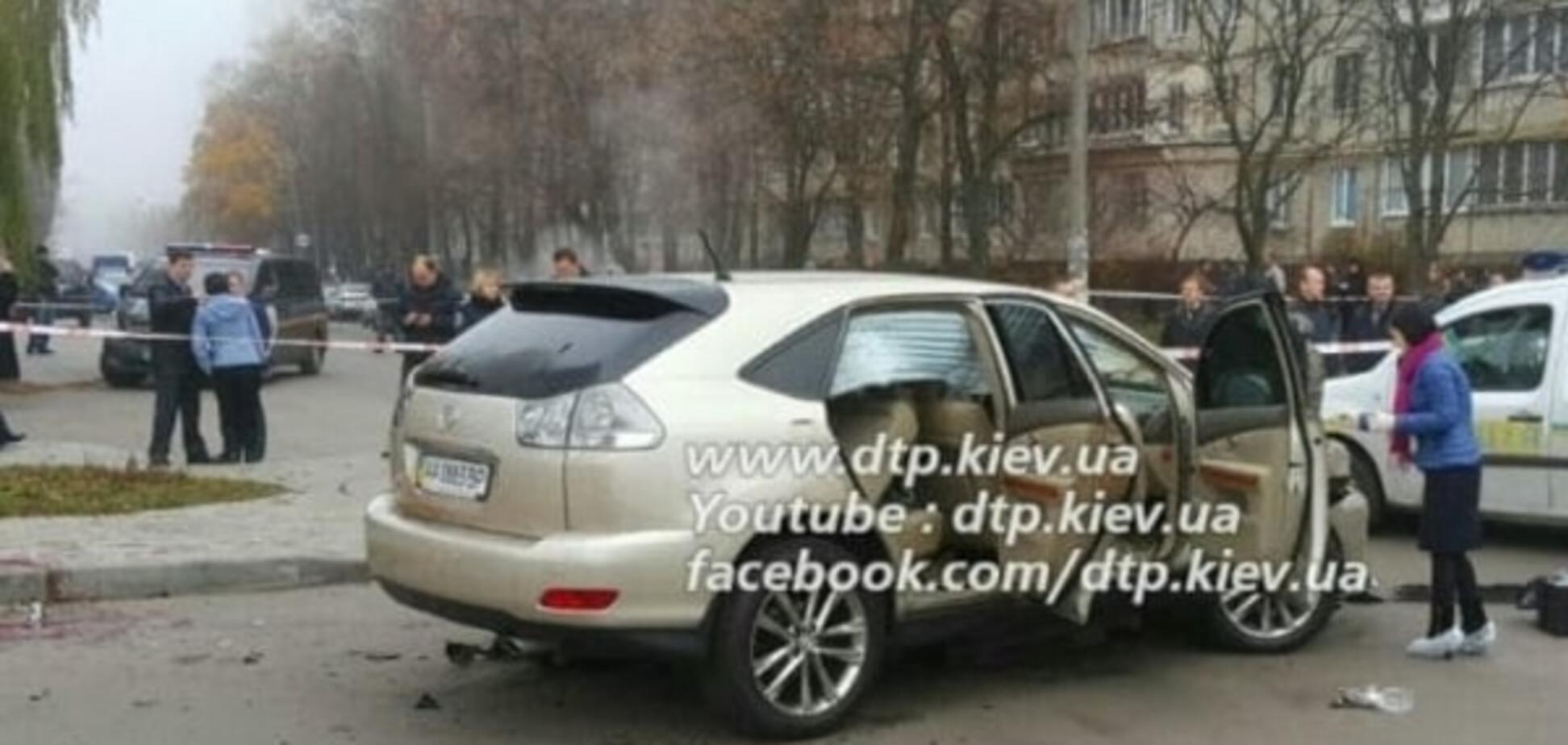 Вибух автомобіля в Києві: постраждалий працює радником голови району
