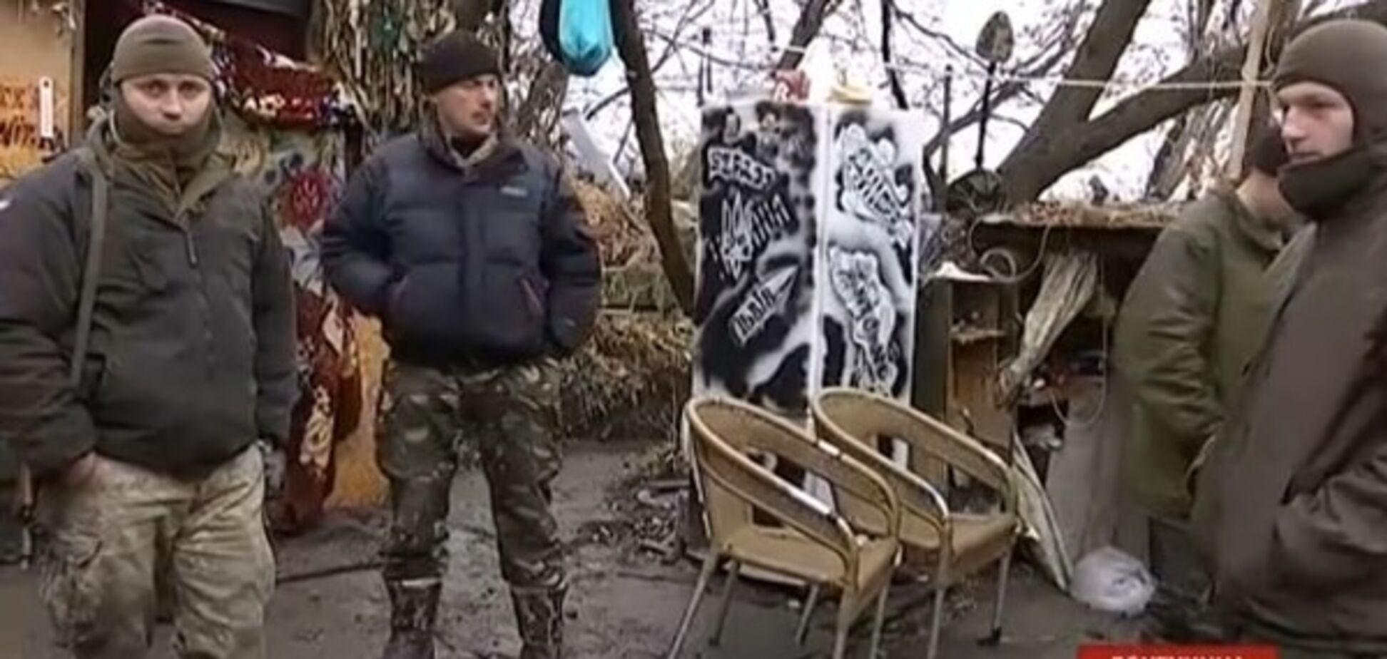 Бойцов АТО в Песках обстреляли из минометов и пулеметов