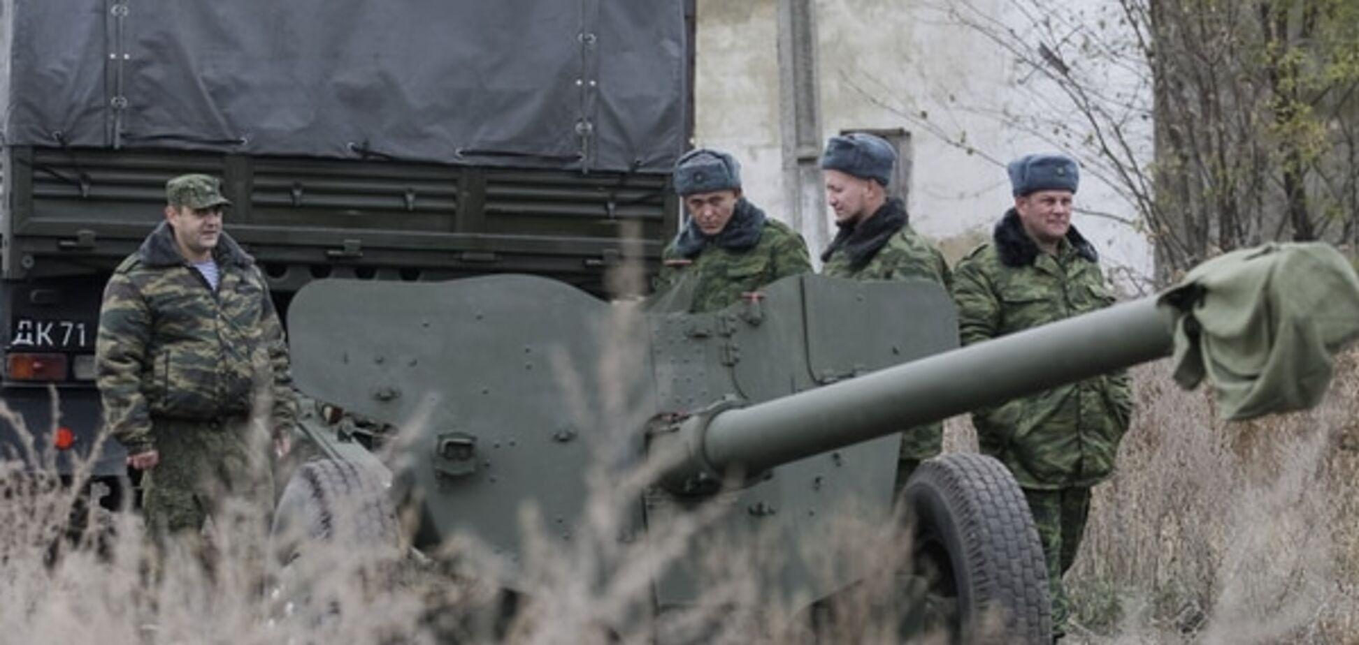 Терористи з гранатометів і кулеметів обстріляли Лозове і Троїцьке