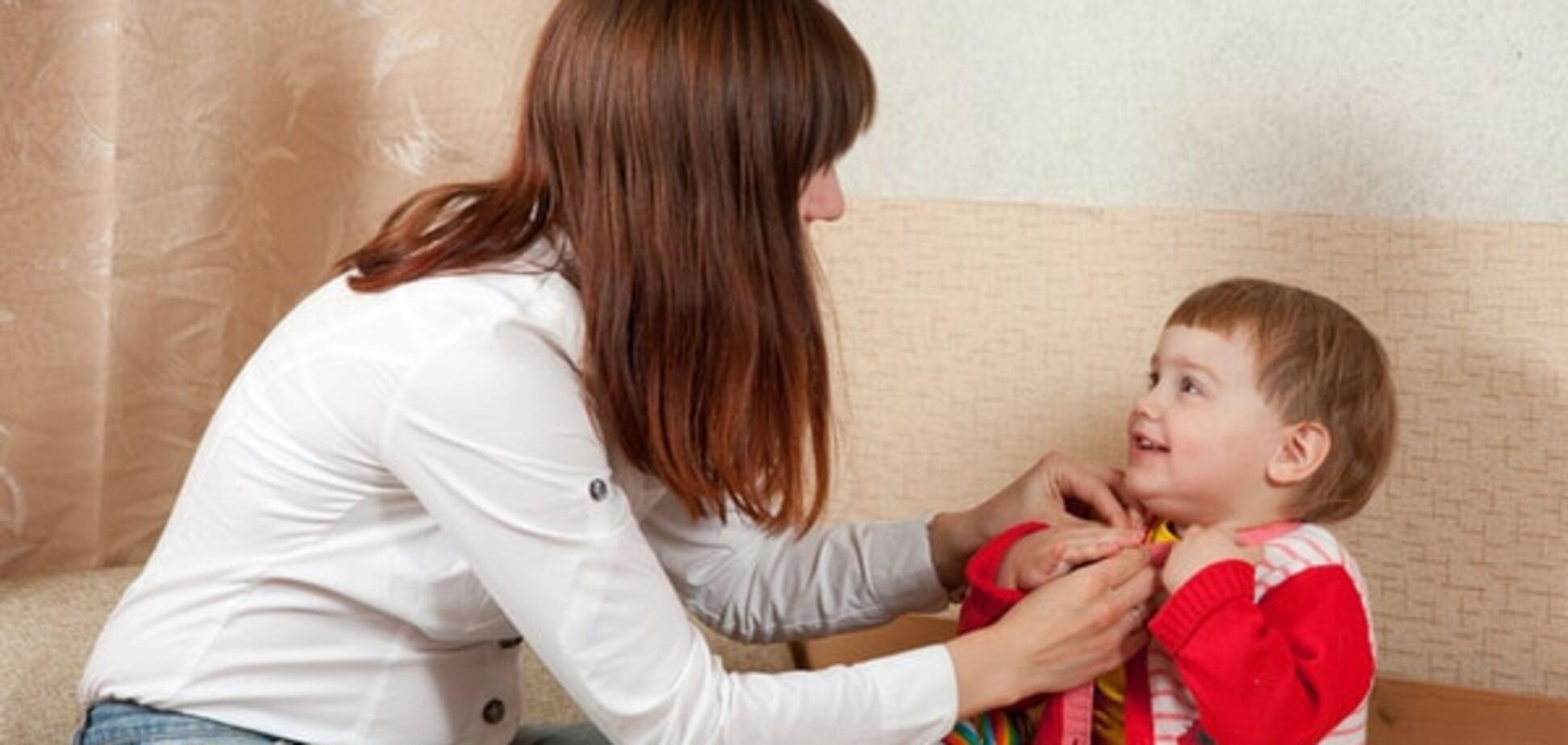 Топ-7 советов родителям, чей ребенок не хочет одеваться